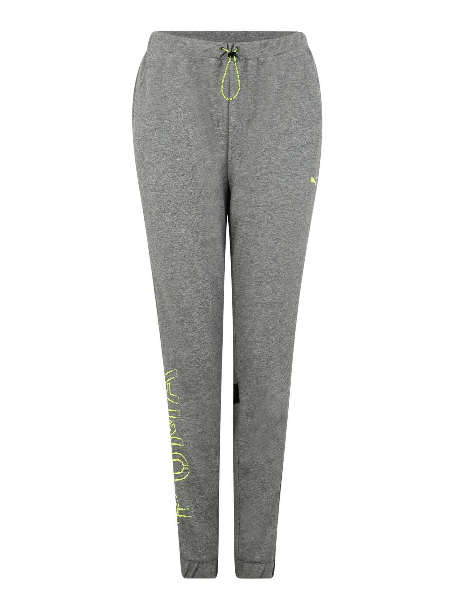 Sportovní kalhoty HIT Feel it Sweat Pant světle šedá PUMA