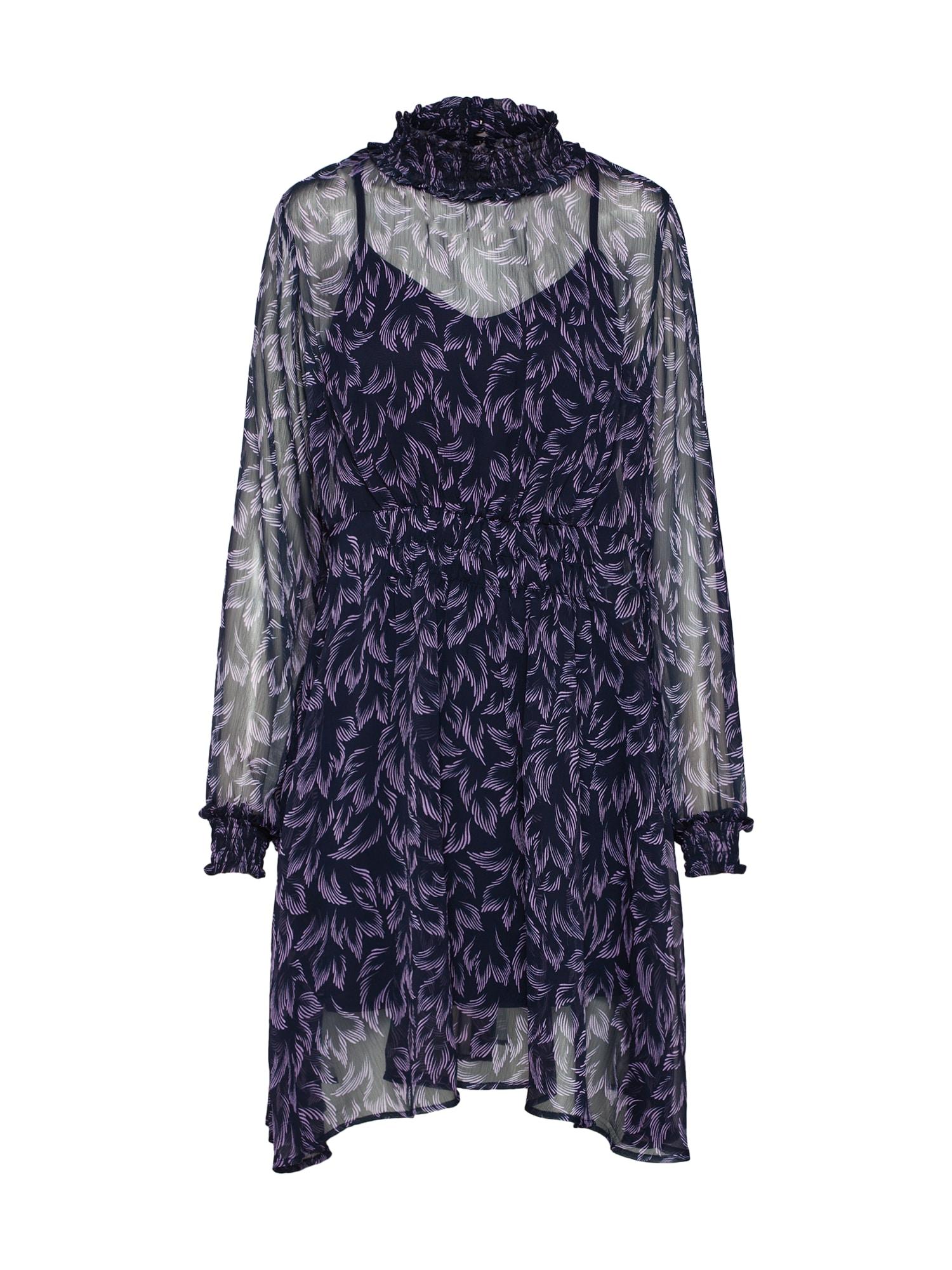 Šaty YASCORALLA LS DRESS modrá Y.A.S