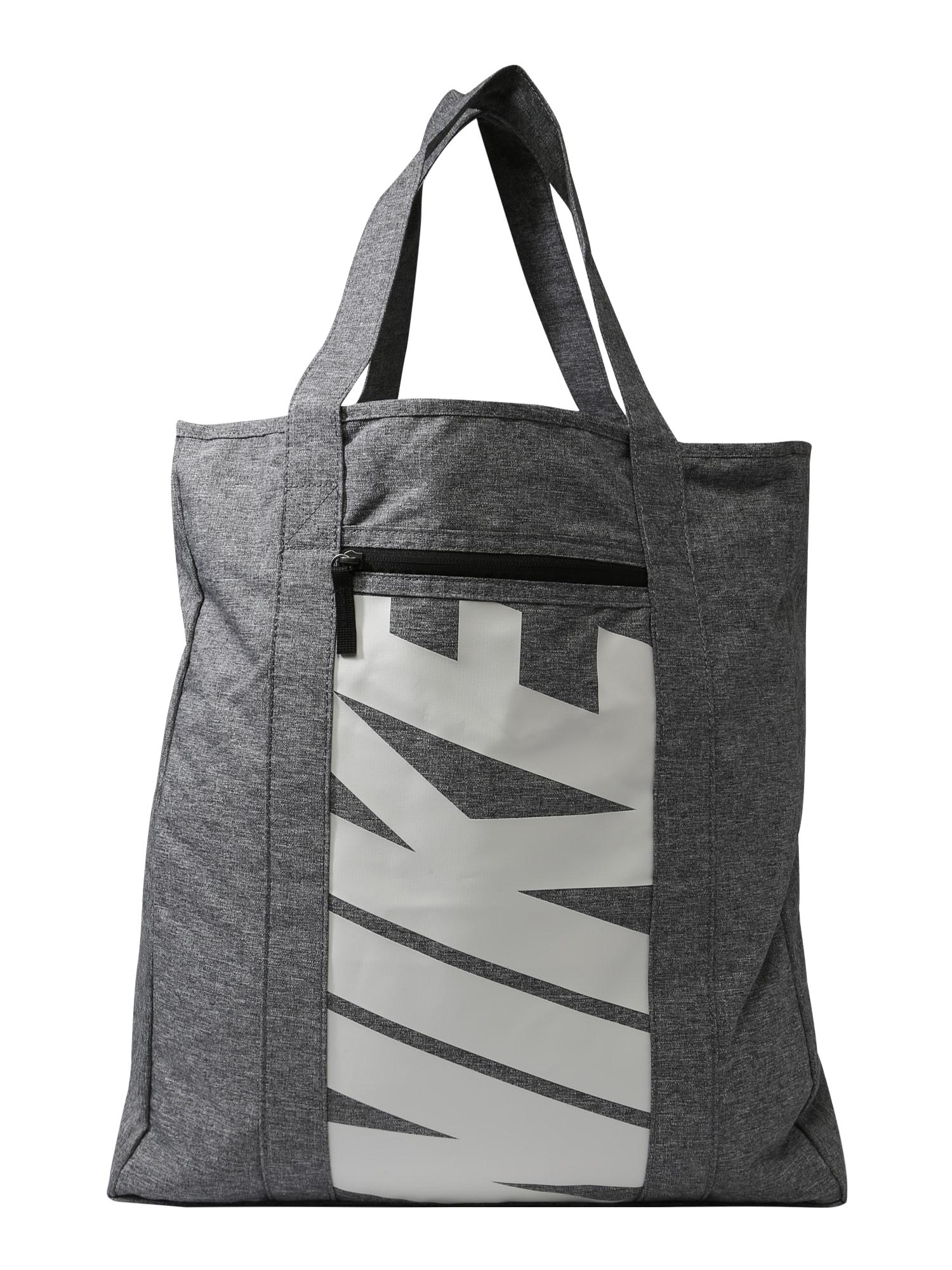 Sportovní taška černá bílá NIKE