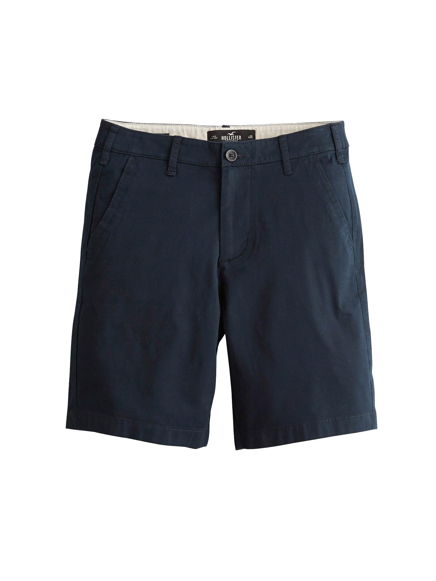 Chino kalhoty námořnická modř HOLLISTER