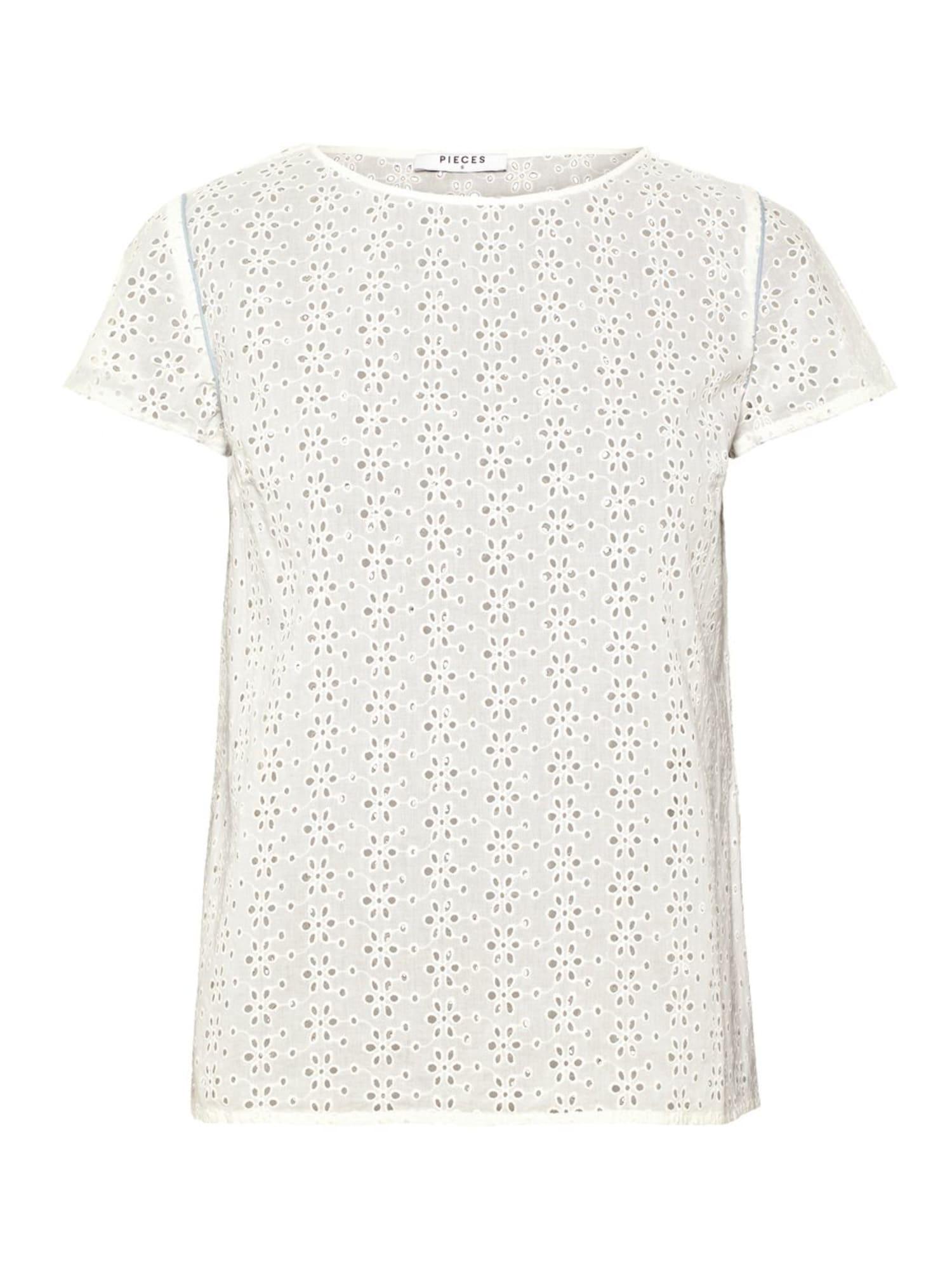 Tričko Bethany bílá PIECES