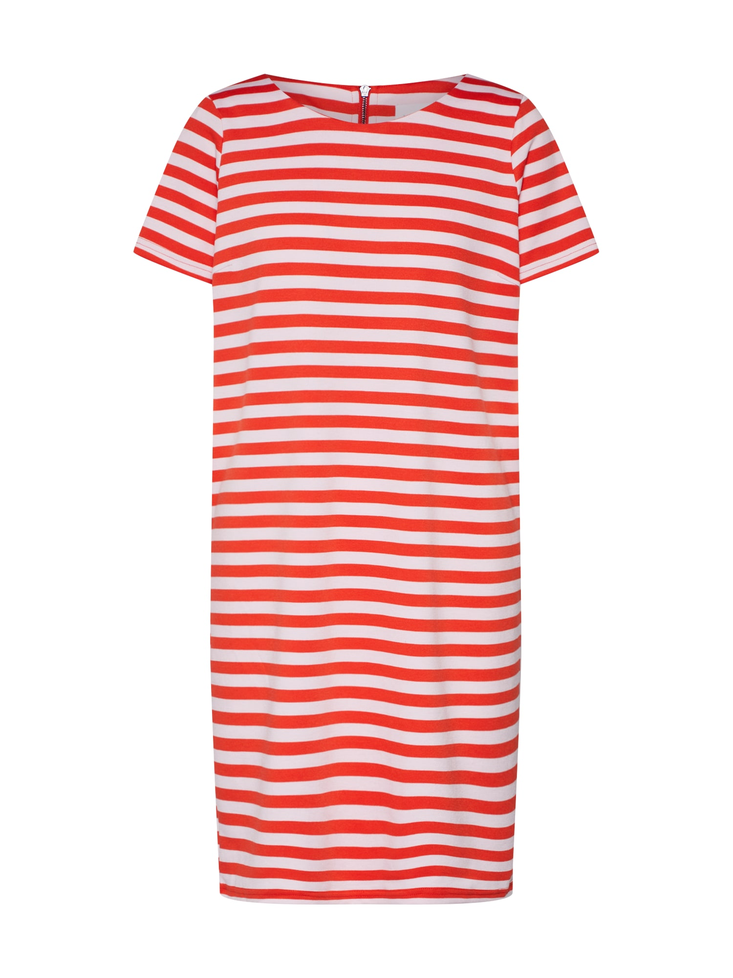Šaty VITinny New červená bílá VILA