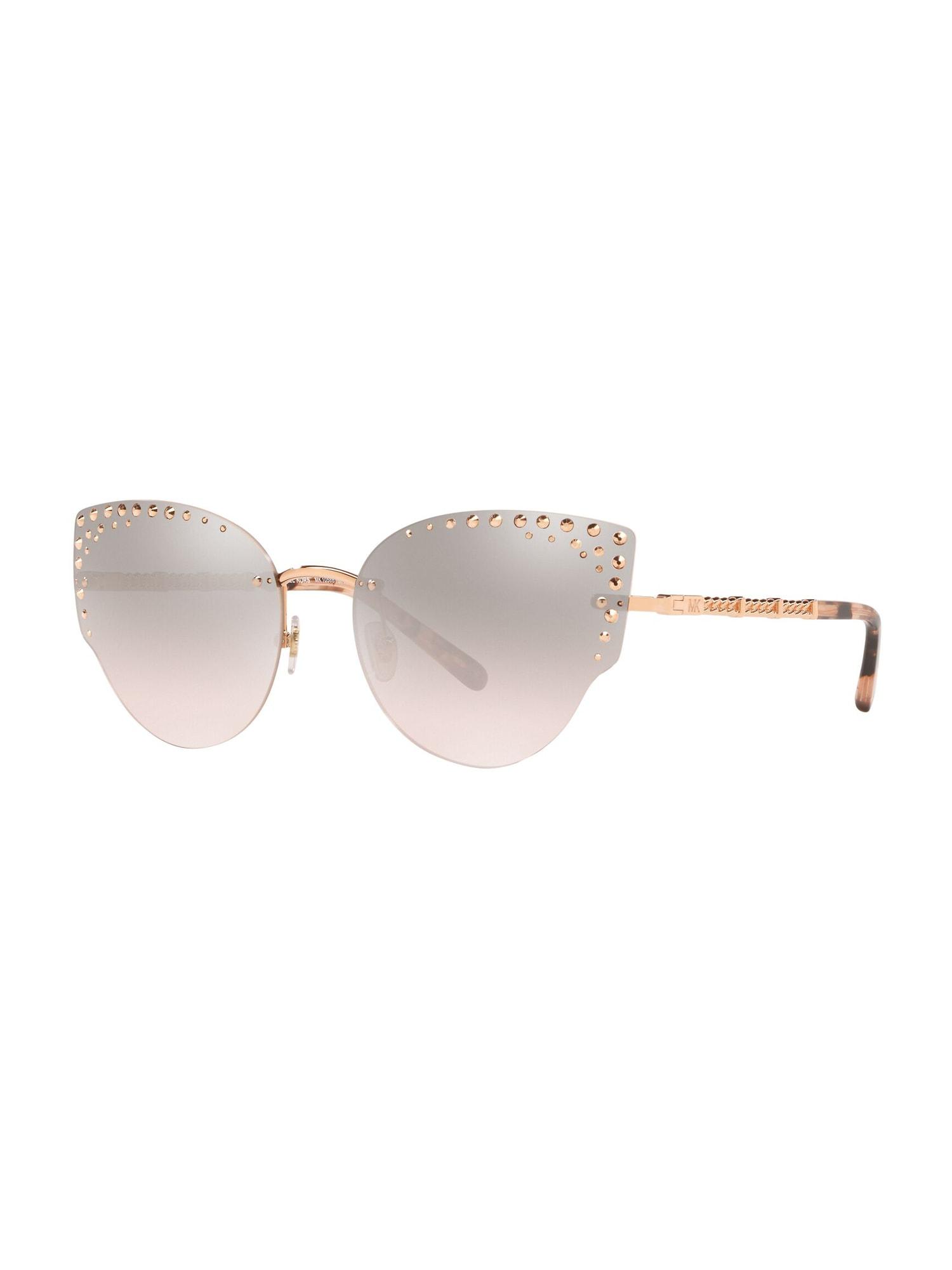 Michael Kors Sluneční brýle  bronzová / růžová