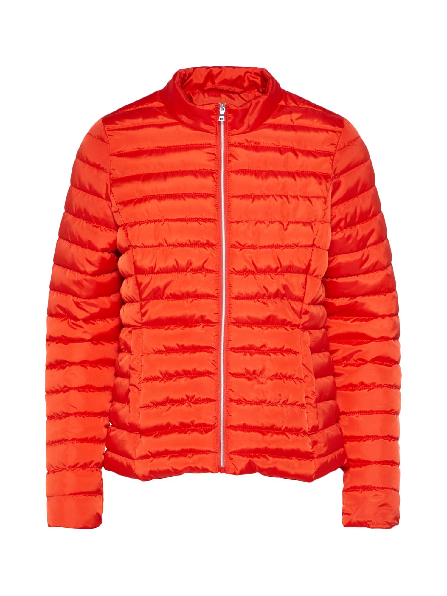 Přechodná bunda GARDENIA oranžově červená BROADWAY NYC FASHION