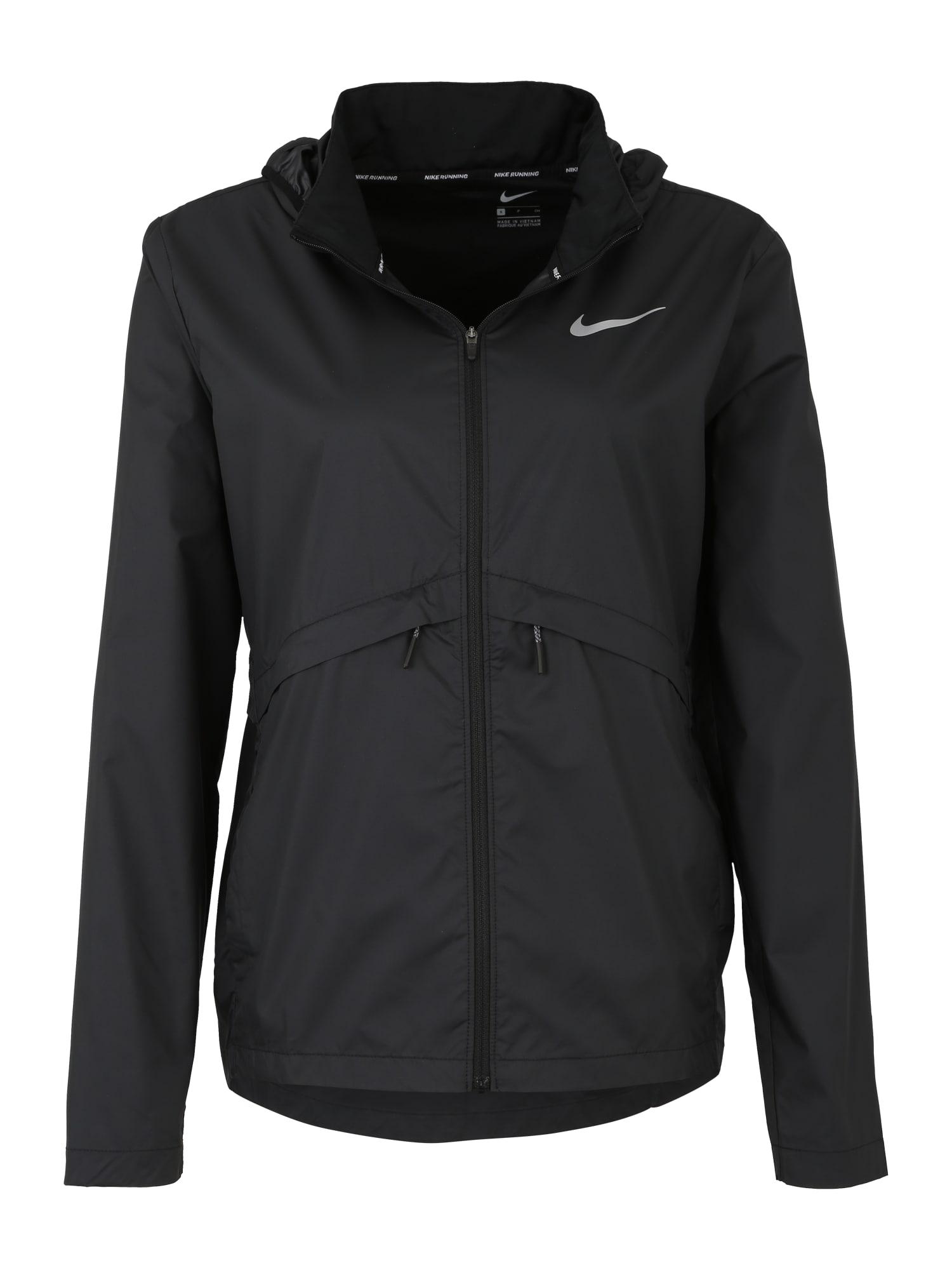 Sportovní bunda Essential  černá NIKE