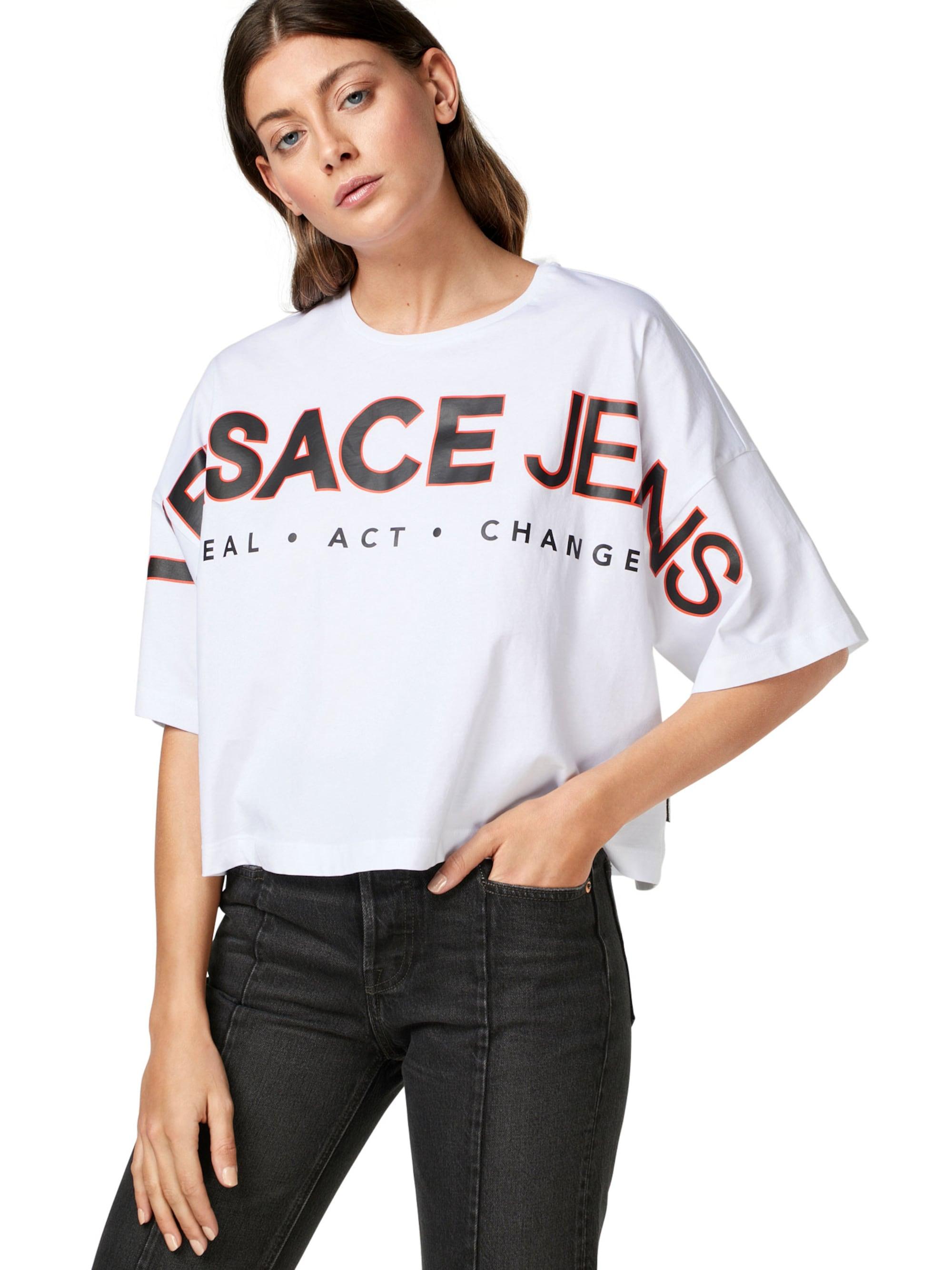 Versace Jeans Koszulka  czerwony / biały