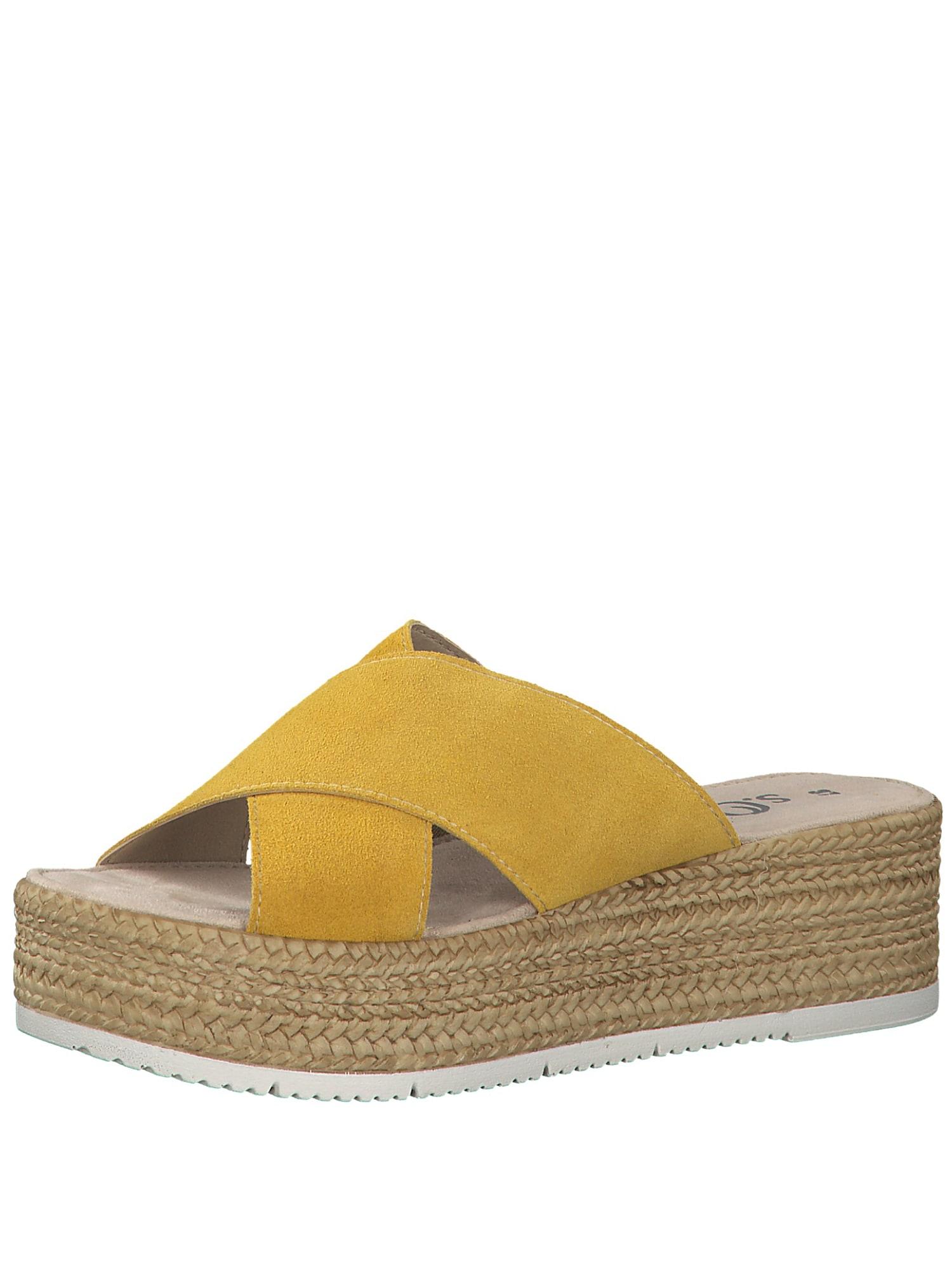 Pantofle žlutá S.Oliver RED LABEL