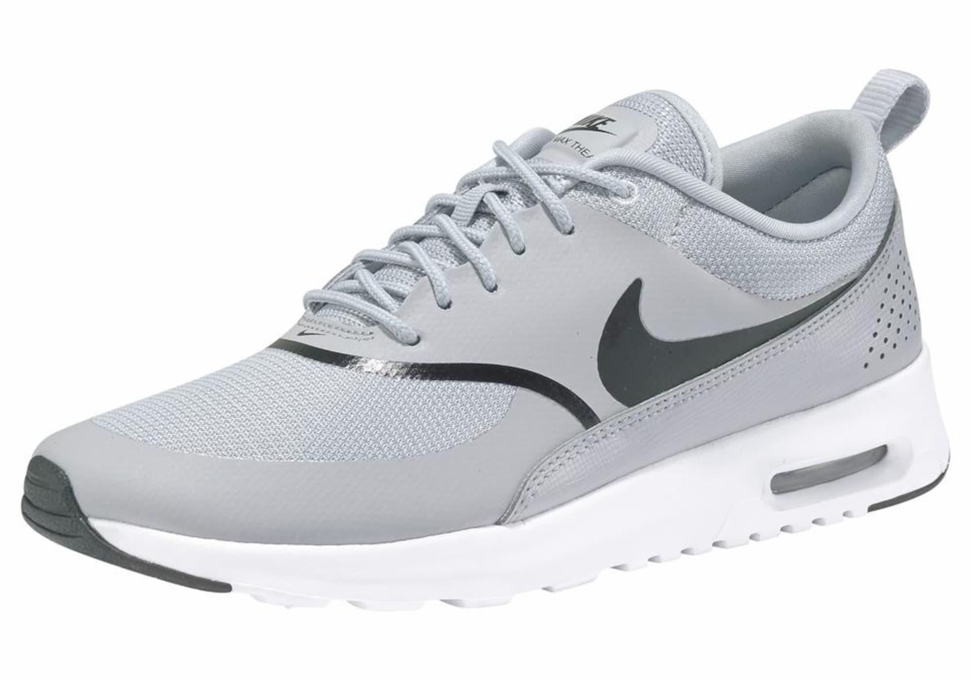 Tenisky AIR MAX THEA světle šedá černá Nike Sportswear