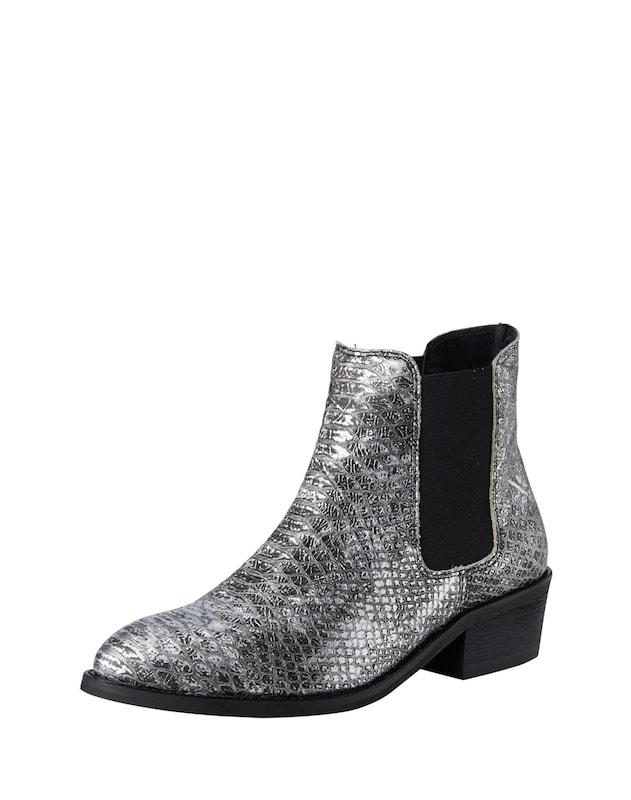 AMUST Chelsea-Boots ´Kamil´ Damen silber