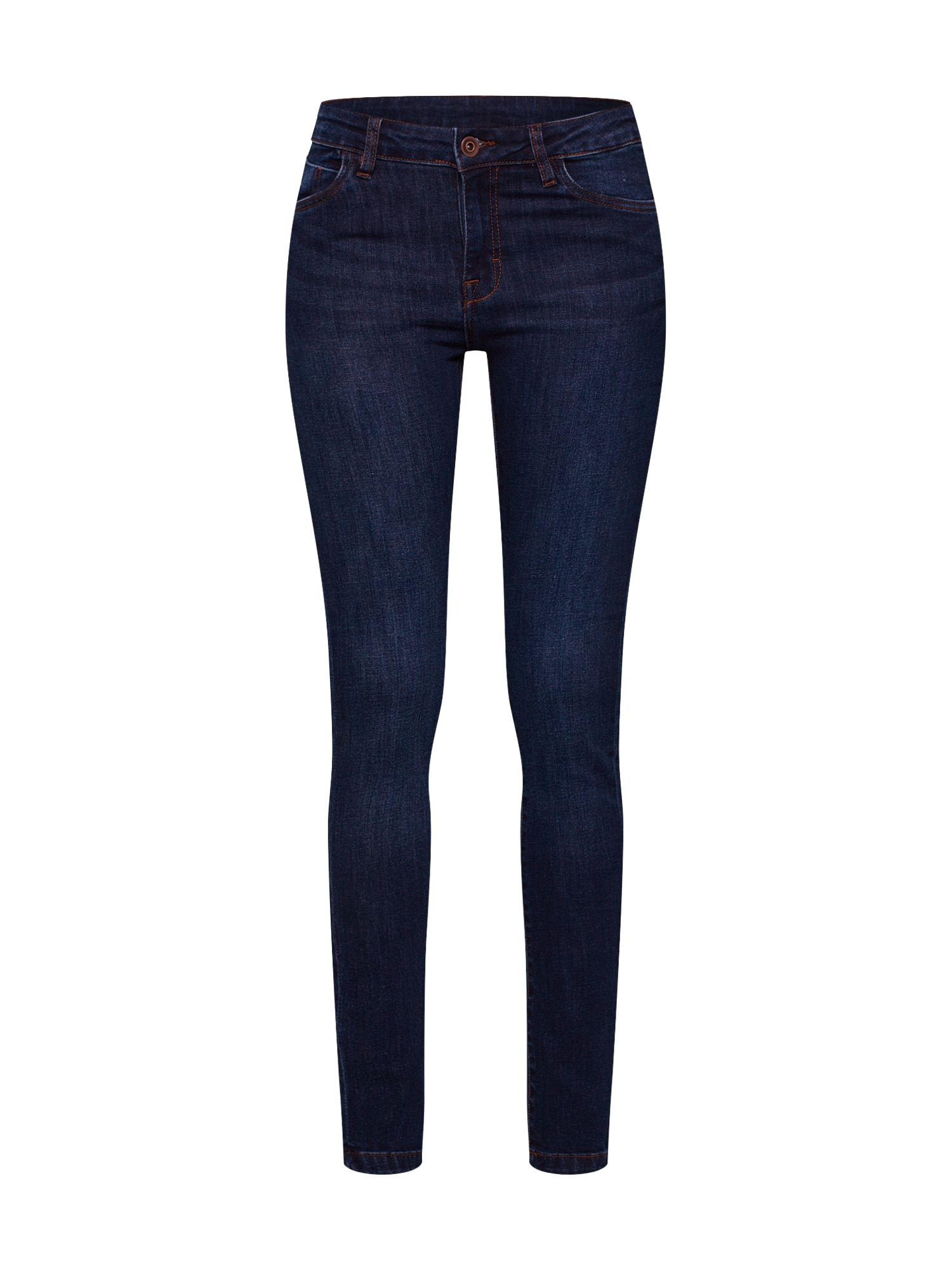 Džíny Ladies Skinny Denim Pants modrá džínovina Urban Classics