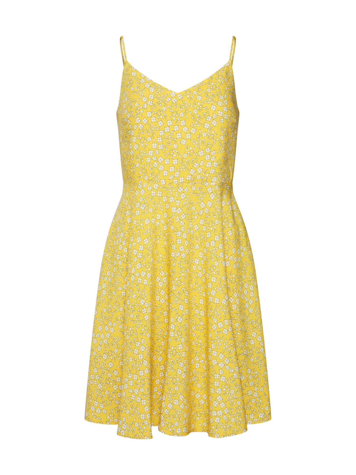 Šaty CAMI žlutá GAP