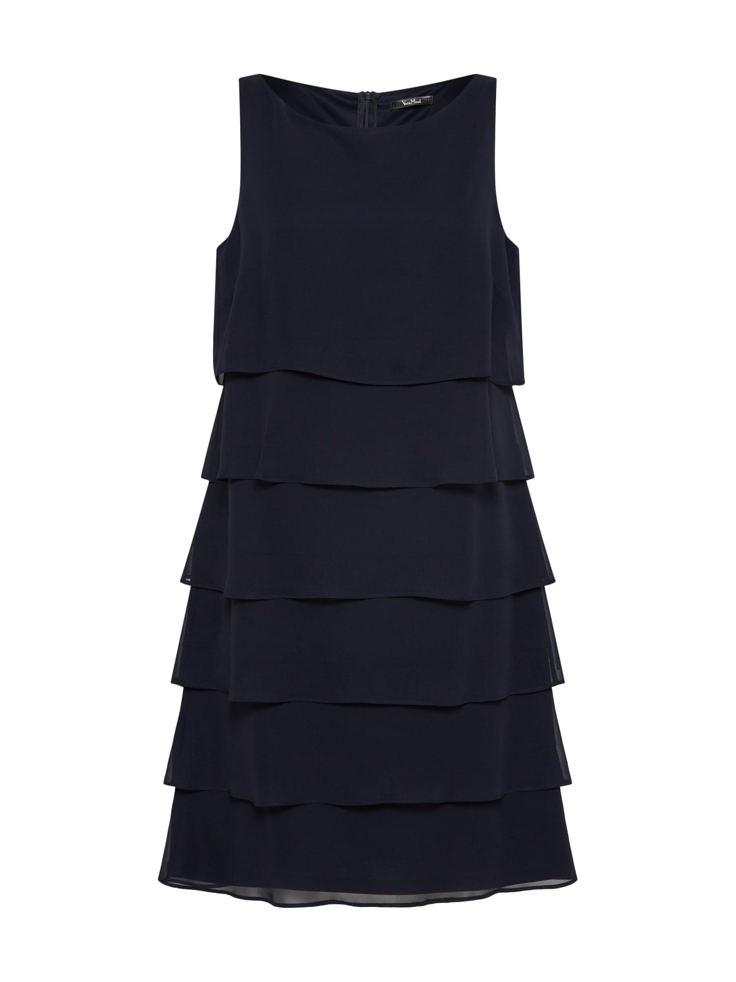 Koktejlové šaty námořnická modř Vera Mont