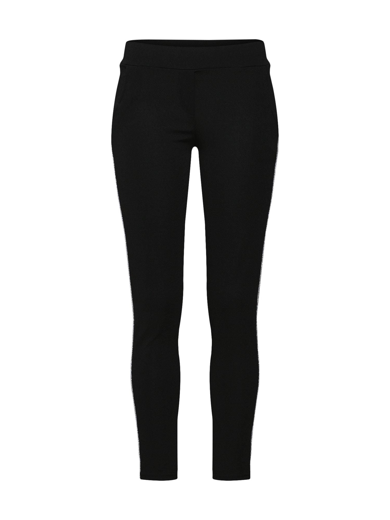 Kalhoty černá stříbrná Zwillingsherz
