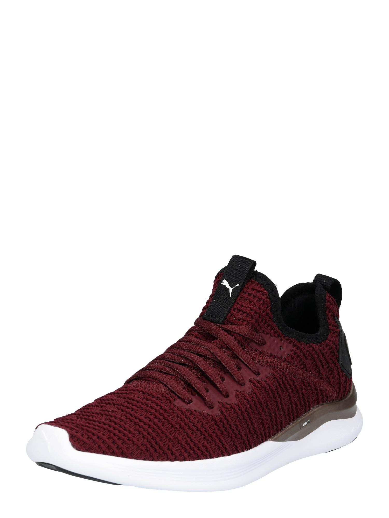 Běžecká obuv Ignite Flash Luxe bordó černá PUMA