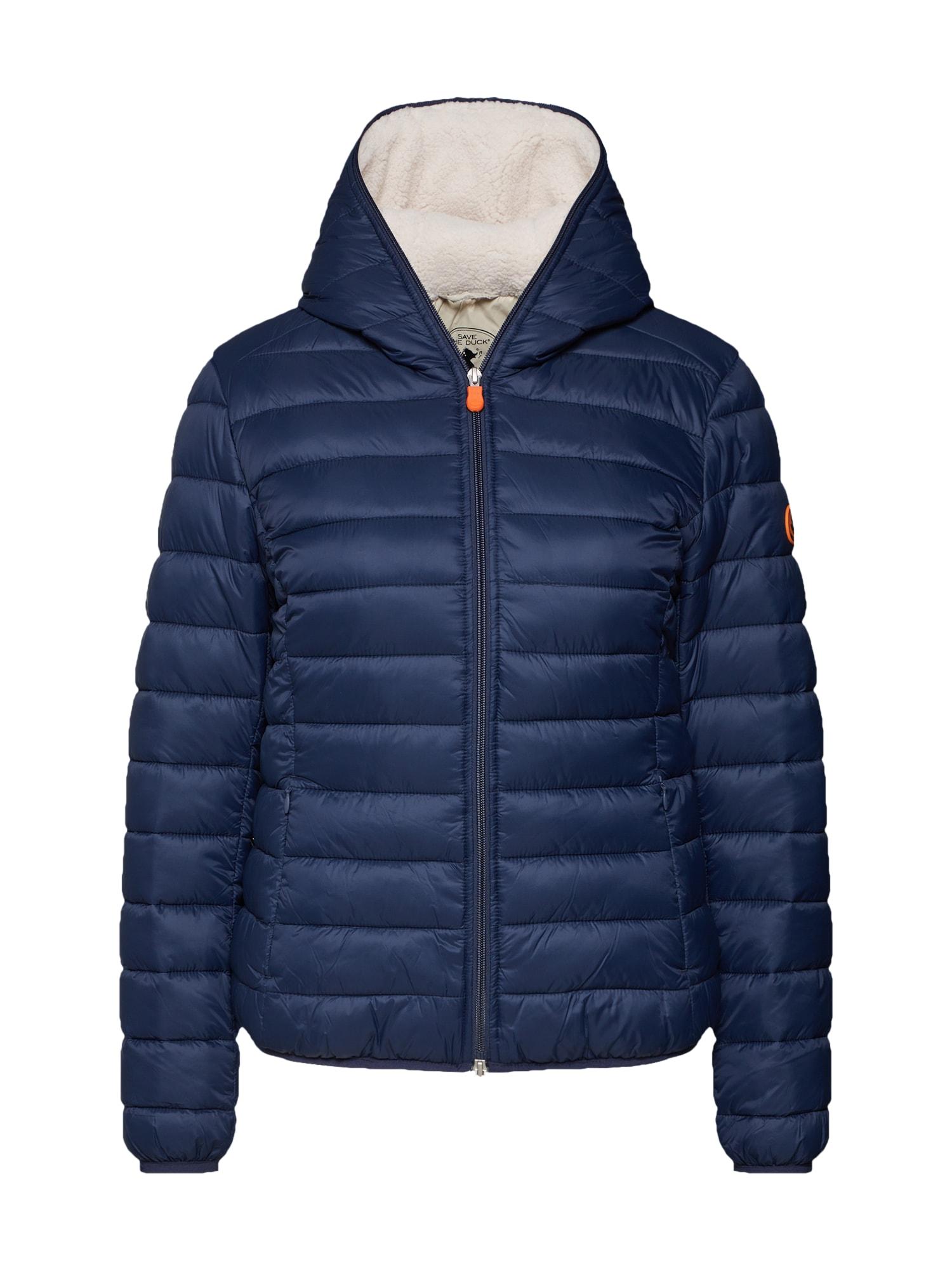 Zimní bunda námořnická modř SAVE THE DUCK