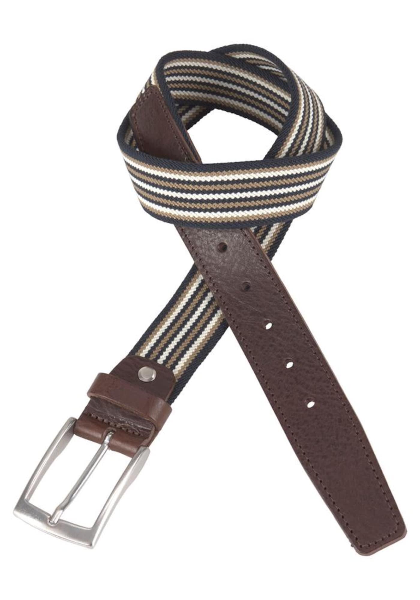 Stoffgürtel | Accessoires > Gürtel > Stoffgürtel | Beige - Braun - Weiß | Bovino BELTS