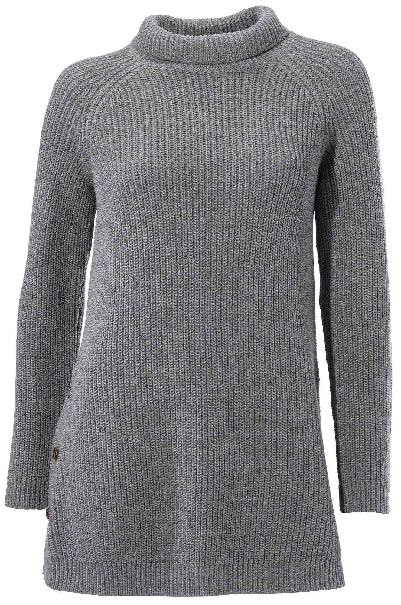 Stehkragenpullover | Bekleidung > Pullover > Stehkragenpullover | Grau | heine