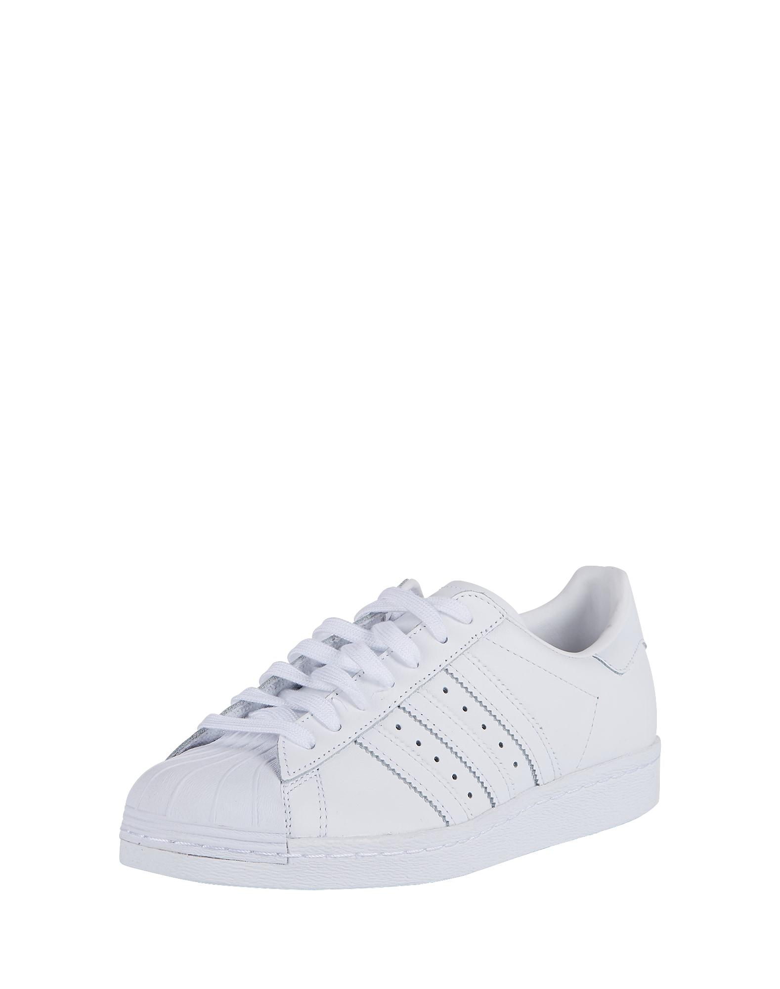 ADIDAS ORIGINALS, Heren Sneakers laag 'SUPERSTAR 80s', wit