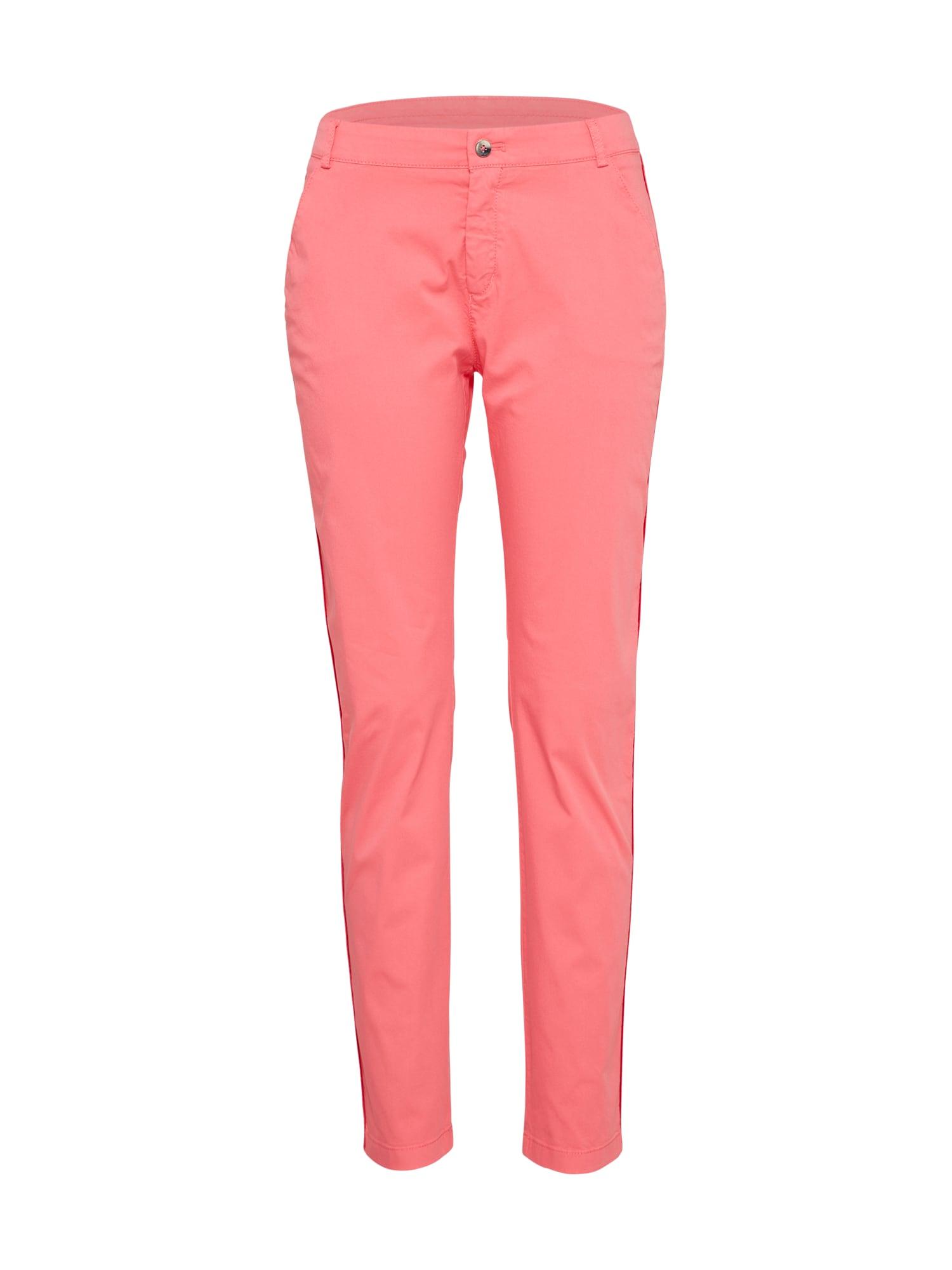 Chino kalhoty Sochila pink BOSS