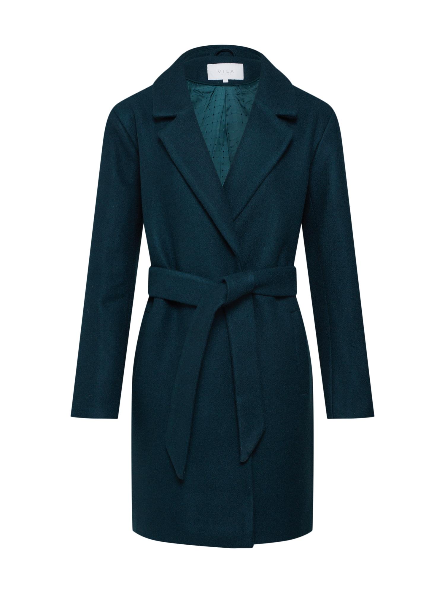 Přechodný kabát VILUS zelená VILA