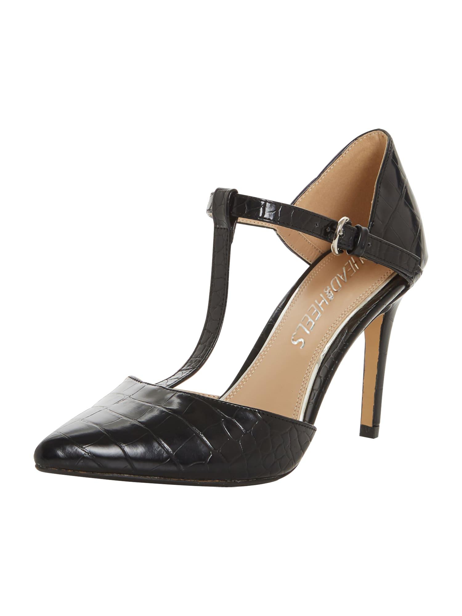 Páskové sandály CATIA černá Head Over Heels