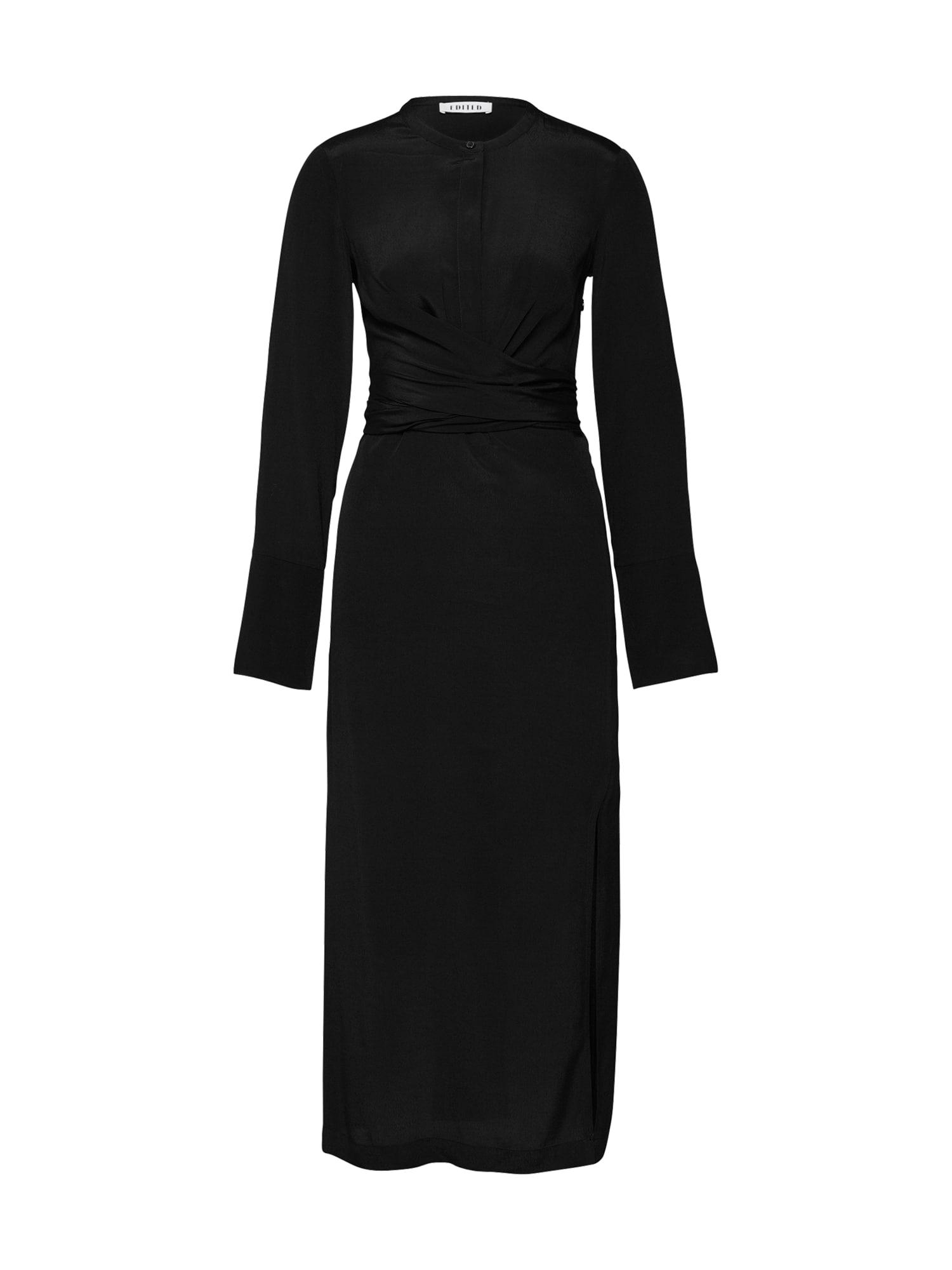 Koktejlové šaty Noella černá EDITED