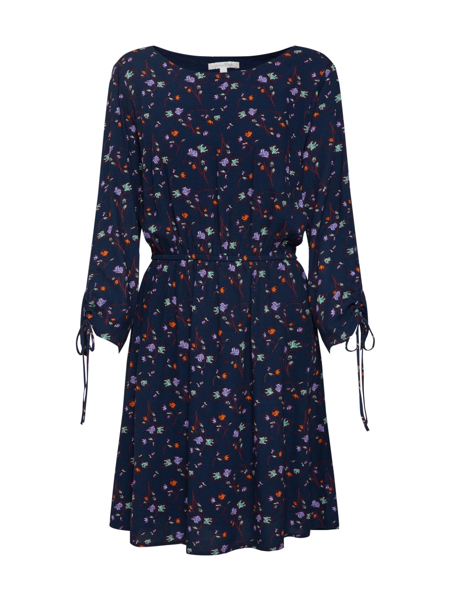 Šaty tmavě modrá mix barev TOM TAILOR DENIM
