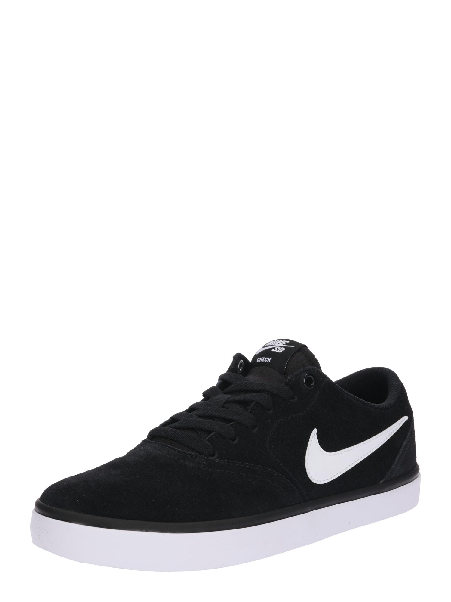 Tenisky SB Check Solarsoft Skate černá Nike SB