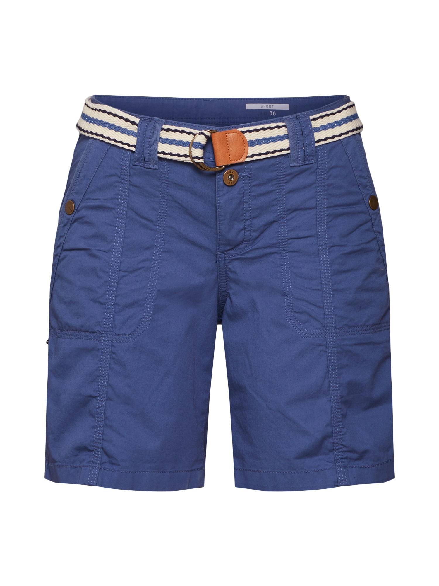 Kalhoty modrá šedá EDC BY ESPRIT