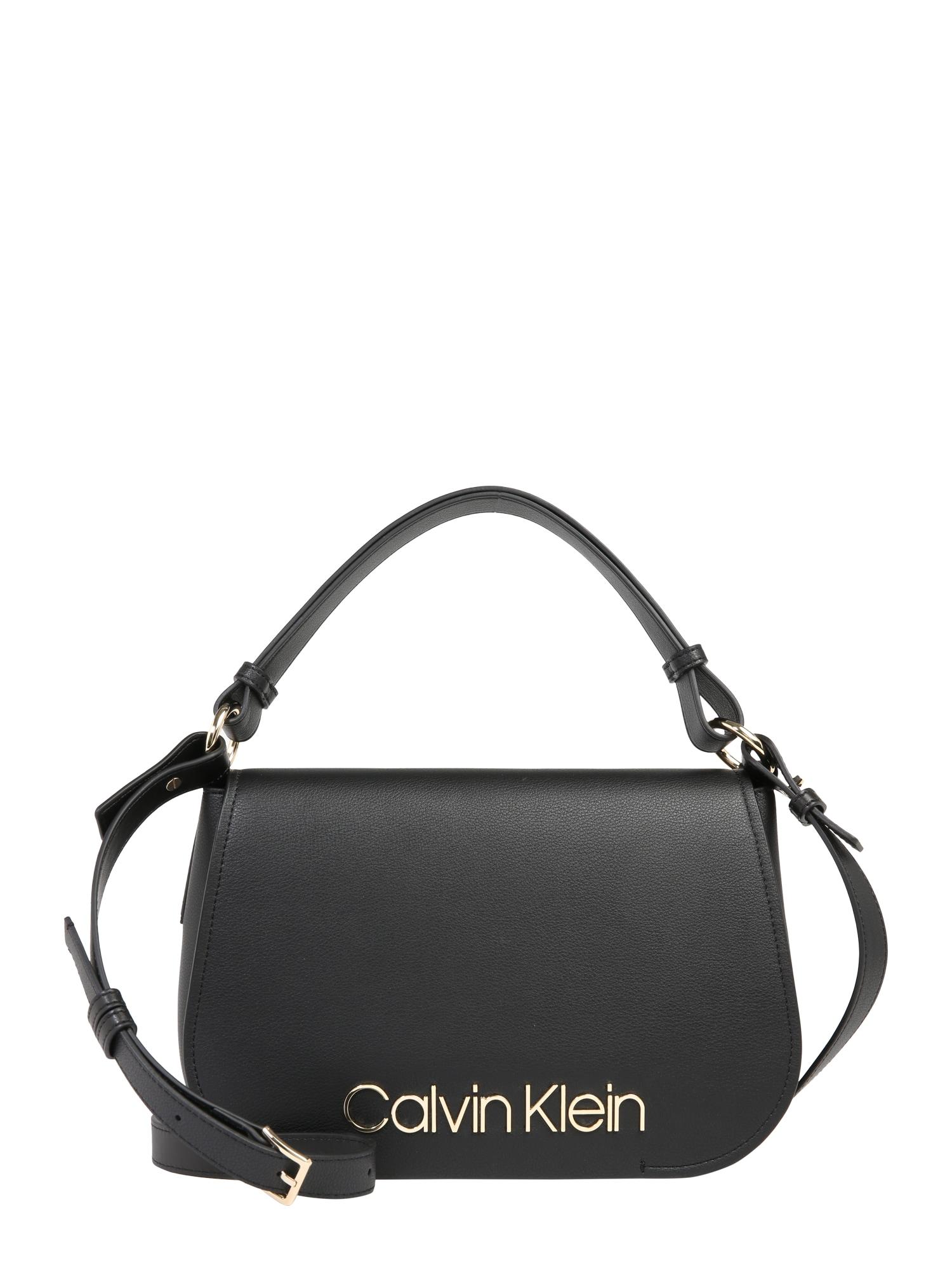 Kabelka Dressed Up Satchel černá Calvin Klein