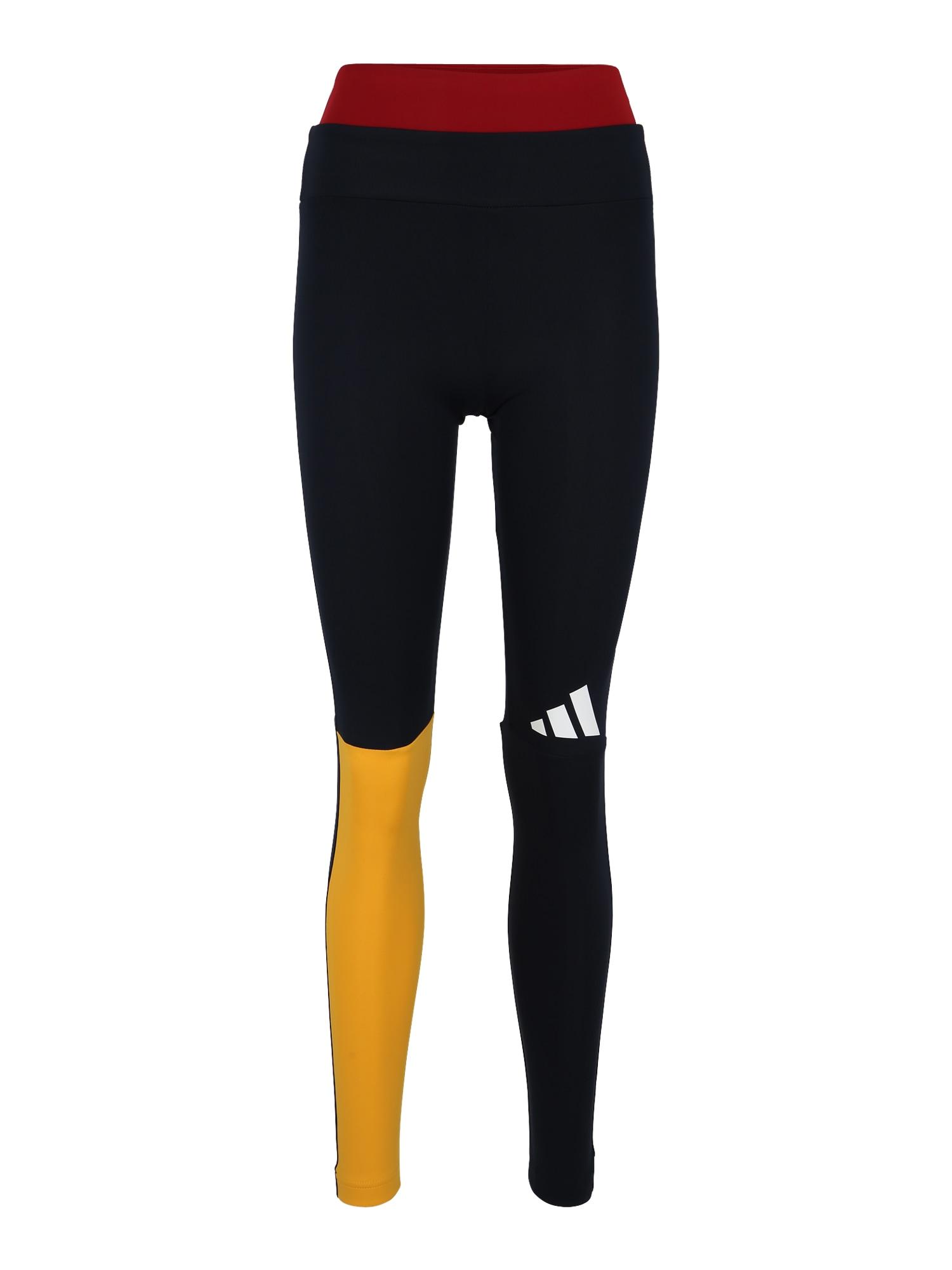Sportovní kalhoty Pack Colorblock námořnická modř žlutá červená bílá ADIDAS PERFORMANCE