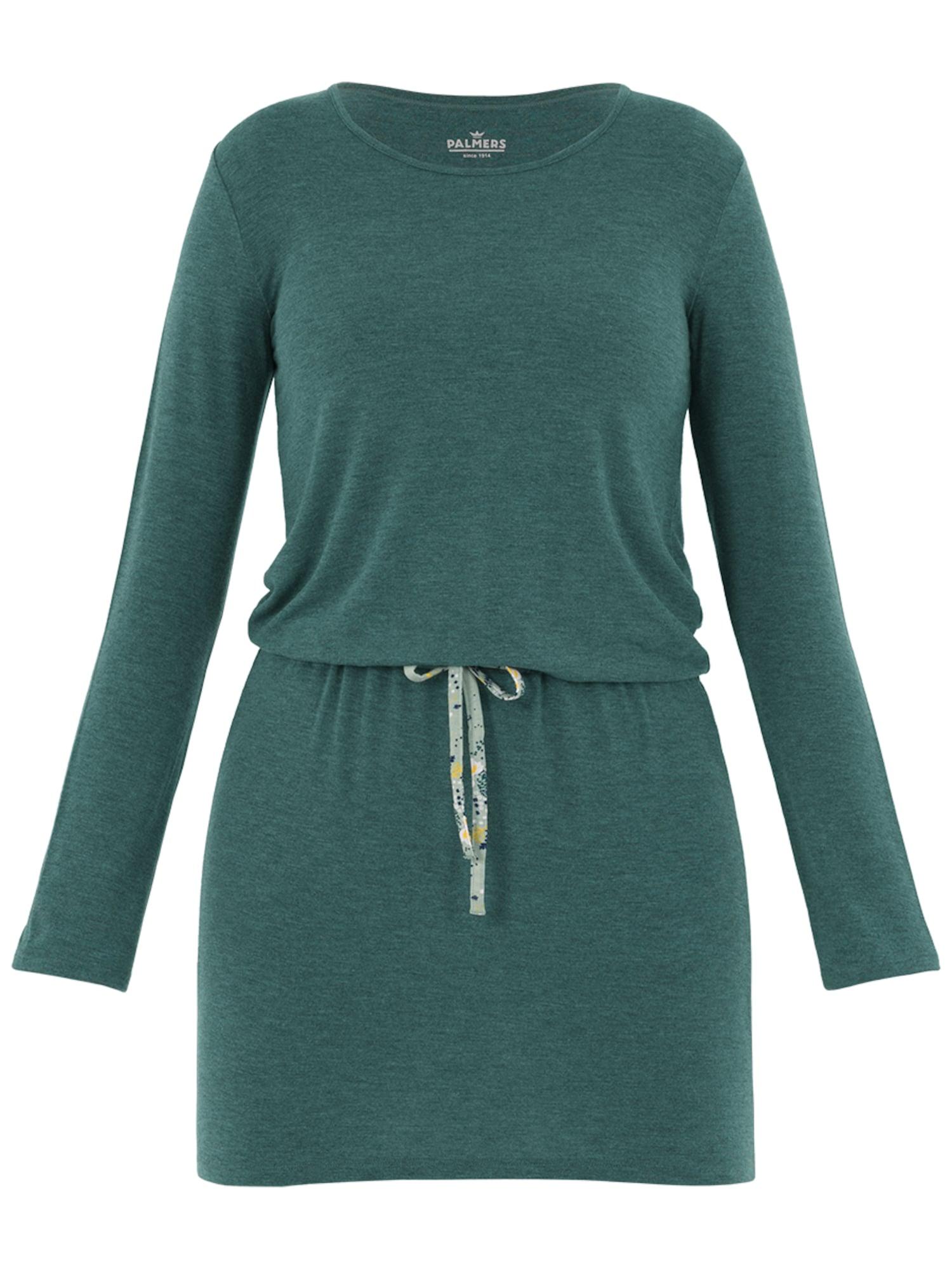 Noční košilka Garden Nights smaragdová PALMERS