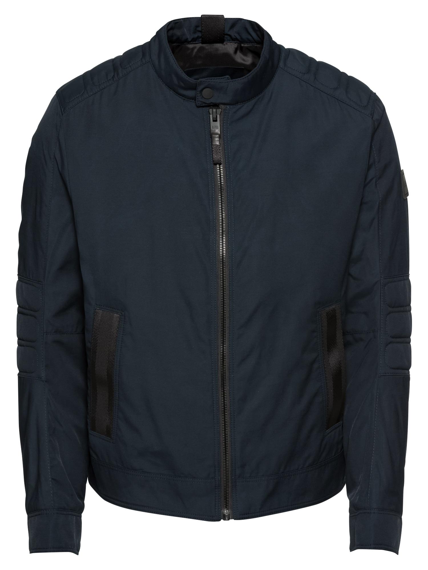 Přechodná bunda Omsa 10212375 01 tmavě modrá BOSS