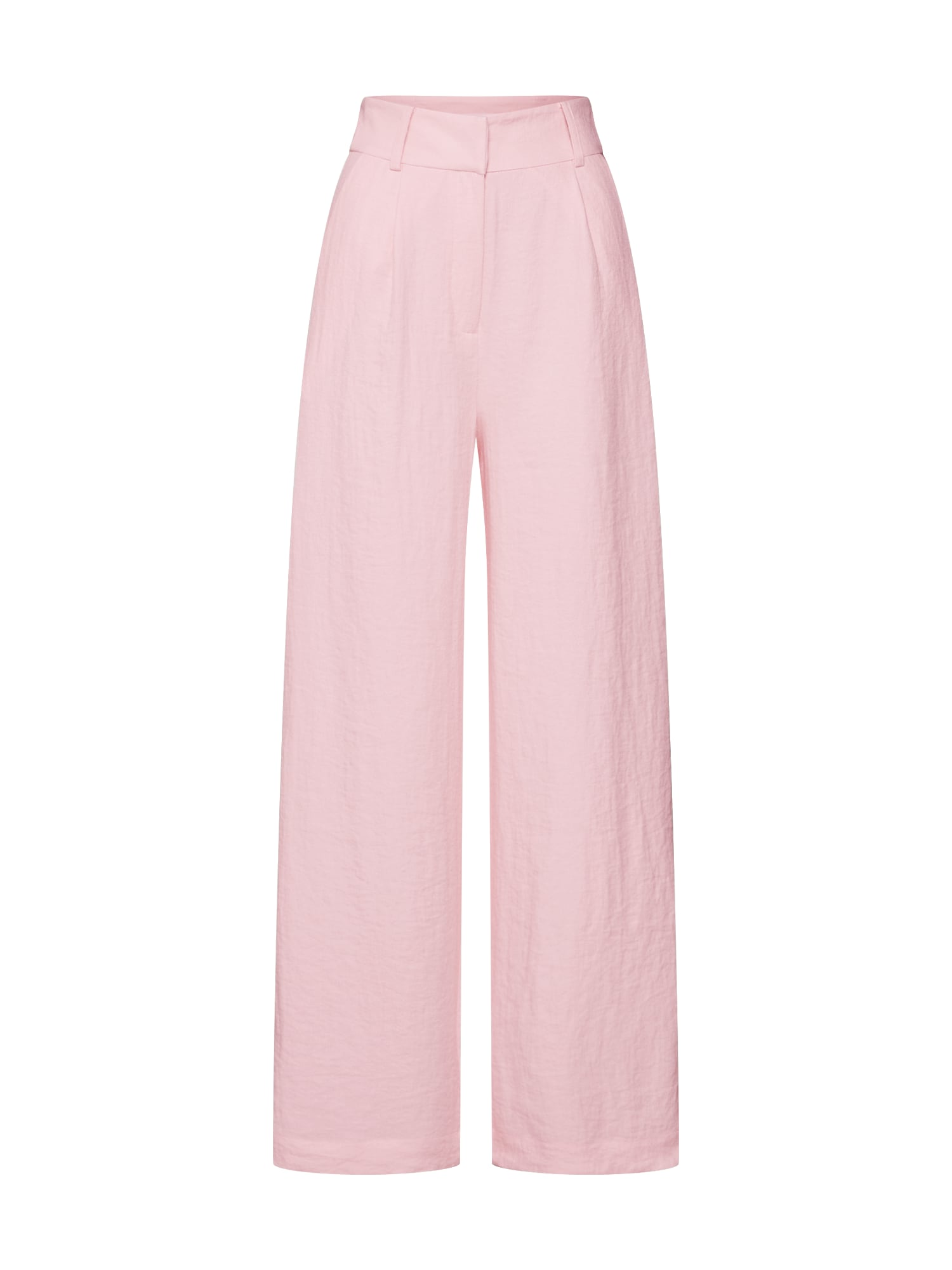 Kalhoty se sklady v pase Juna pink EDITED