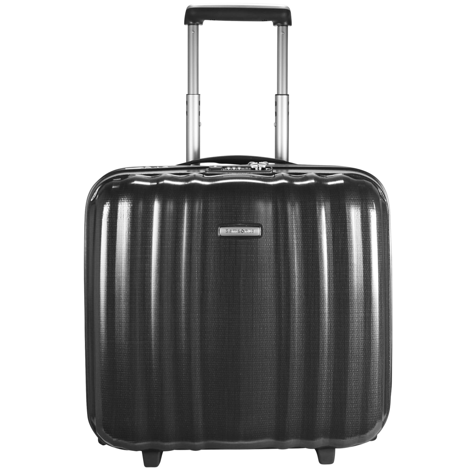 Lite-Cube Upright 2-Rollen Businesstrolley I 43 cm Laptopfach | Taschen > Businesstaschen > Business Trolleys | Grau | Samsonite