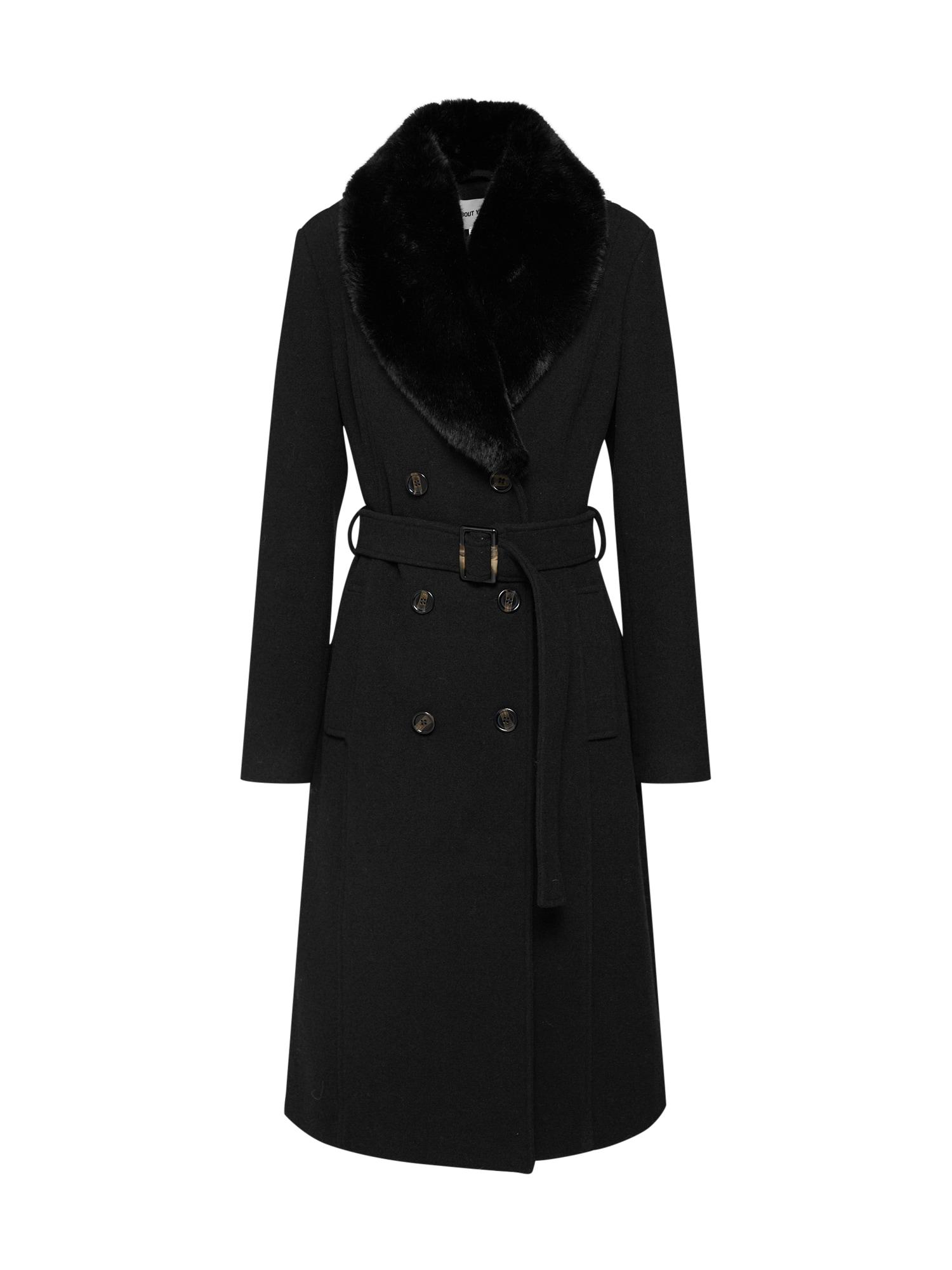 Zimní kabát Laila černá ABOUT YOU