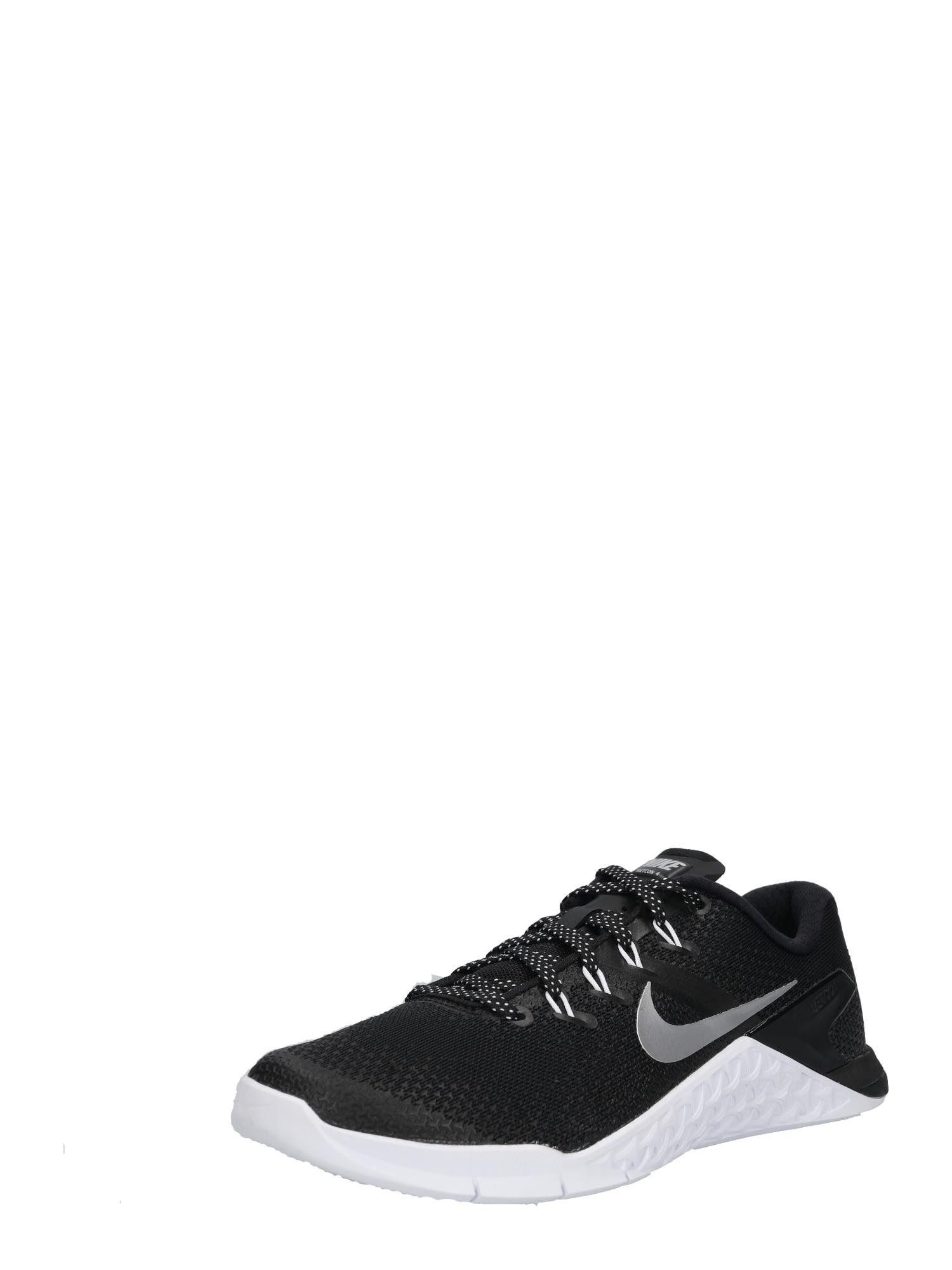 Sportovní boty Metcon 4 černá stříbrná NIKE