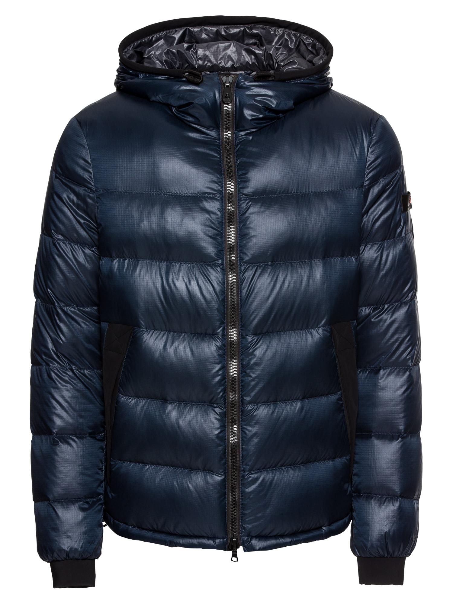 Zimní bunda HONOVA  námořnická modř  bílá Peuterey