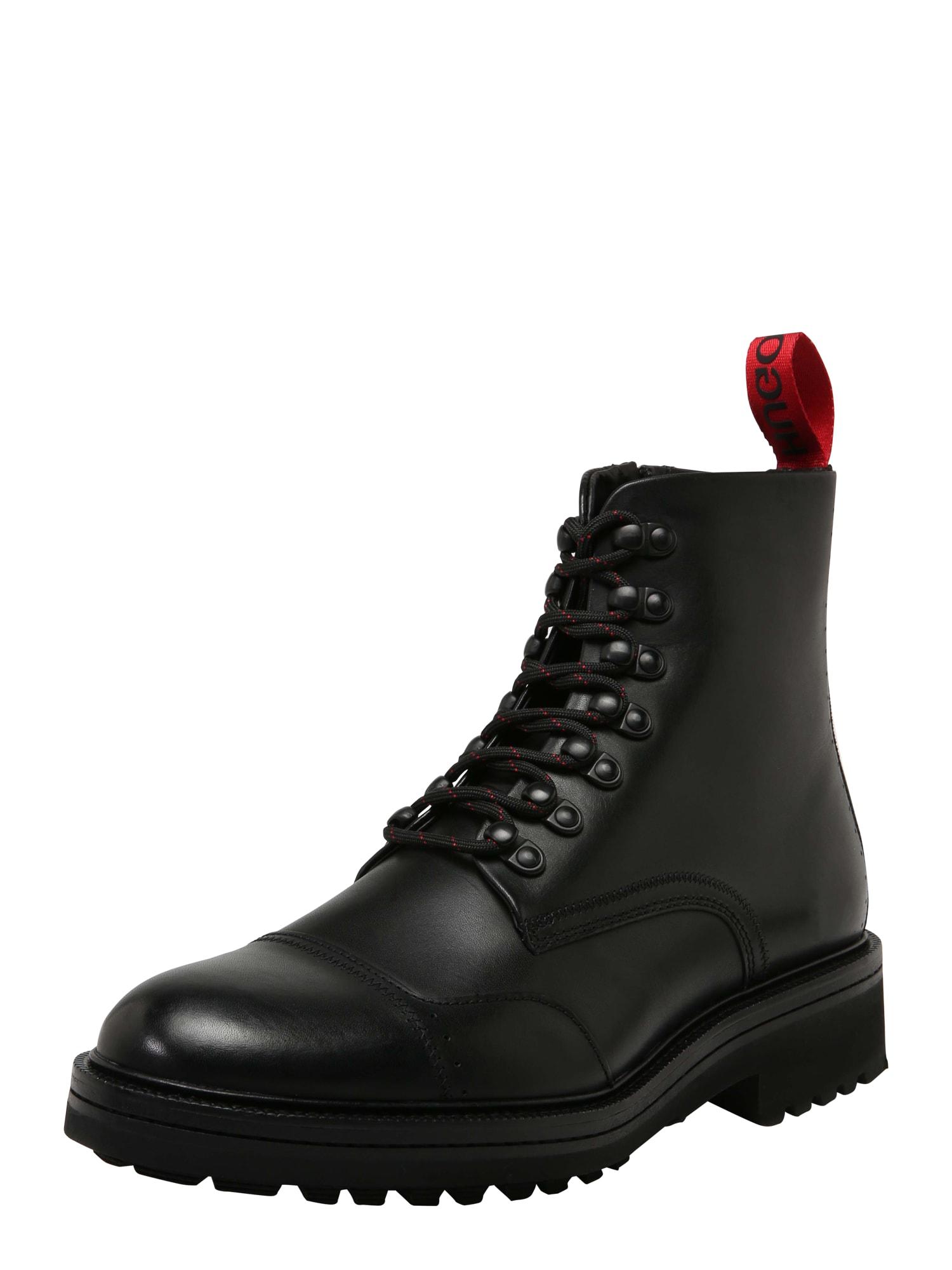 Šněrovací boty Impact Halb černá HUGO