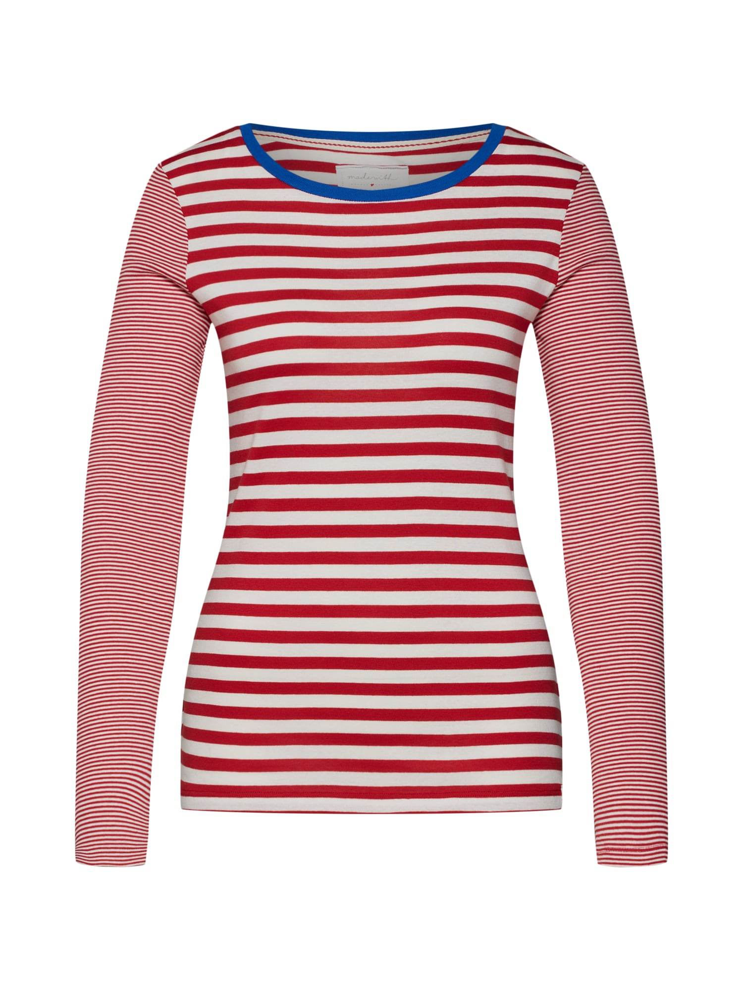 Tričko červená bílá ESPRIT