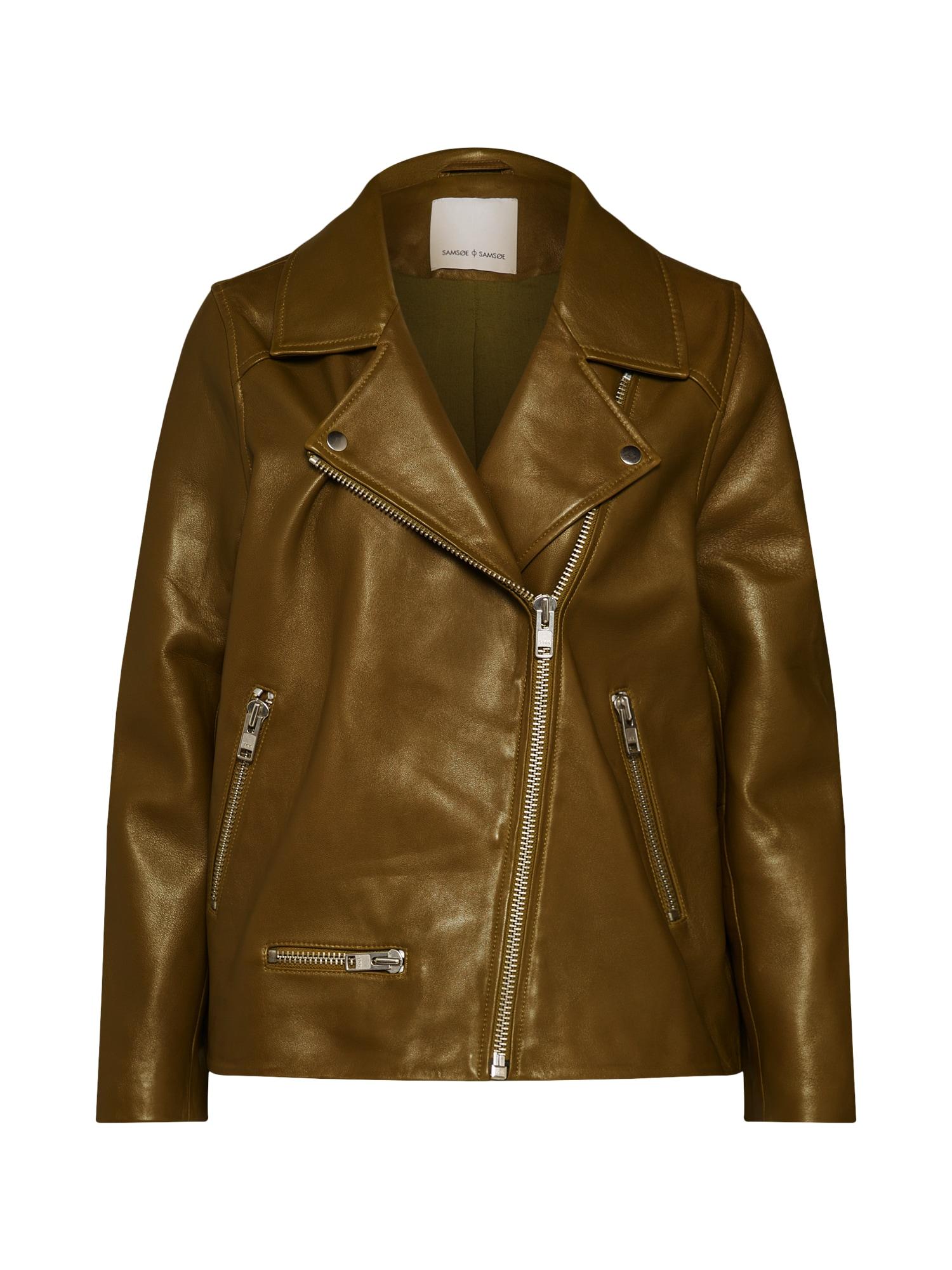 Přechodná bunda Welter jacket 10786 zelená Samsoe & Samsoe