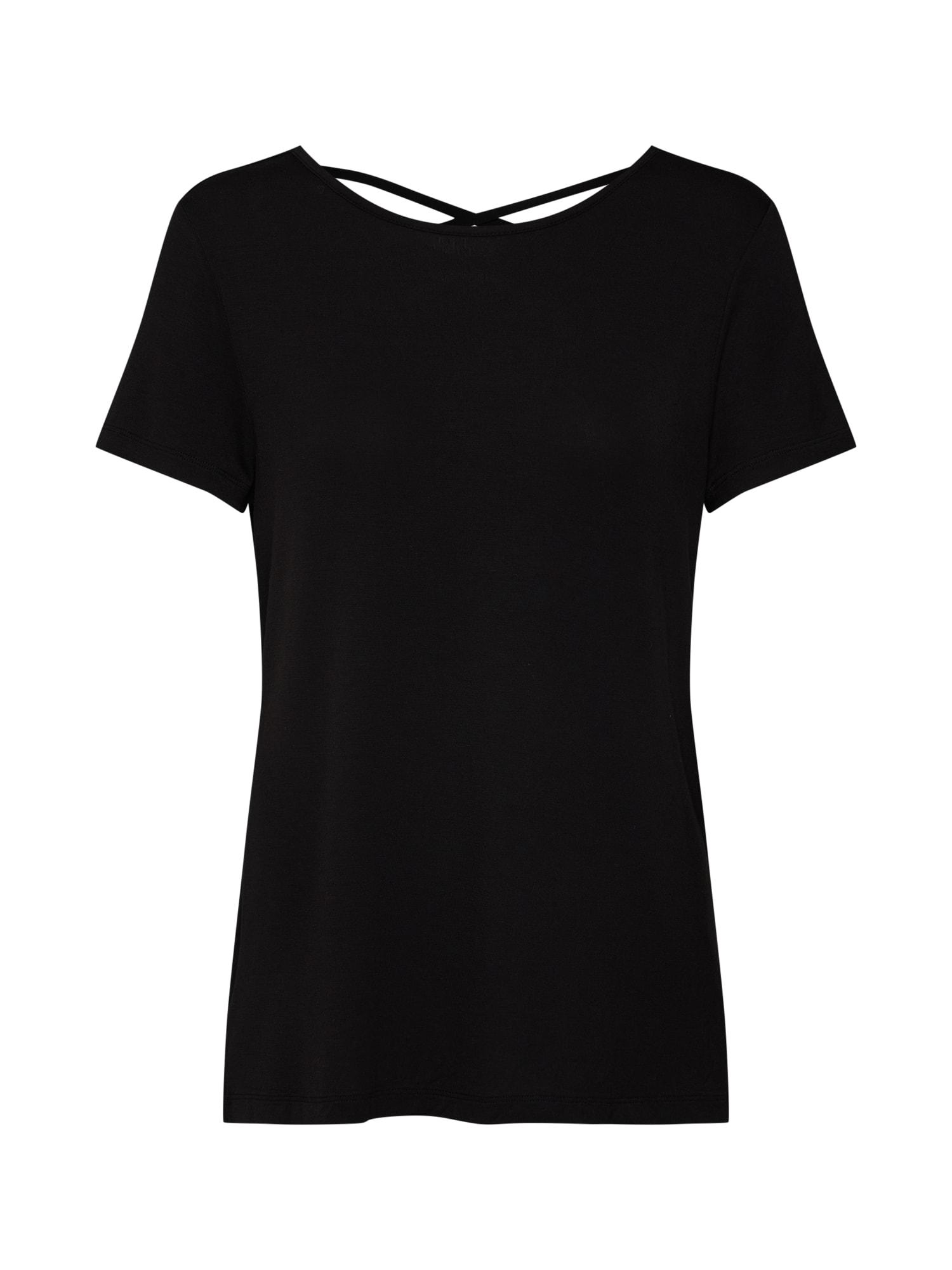 Tričko UBUD černá ONLY