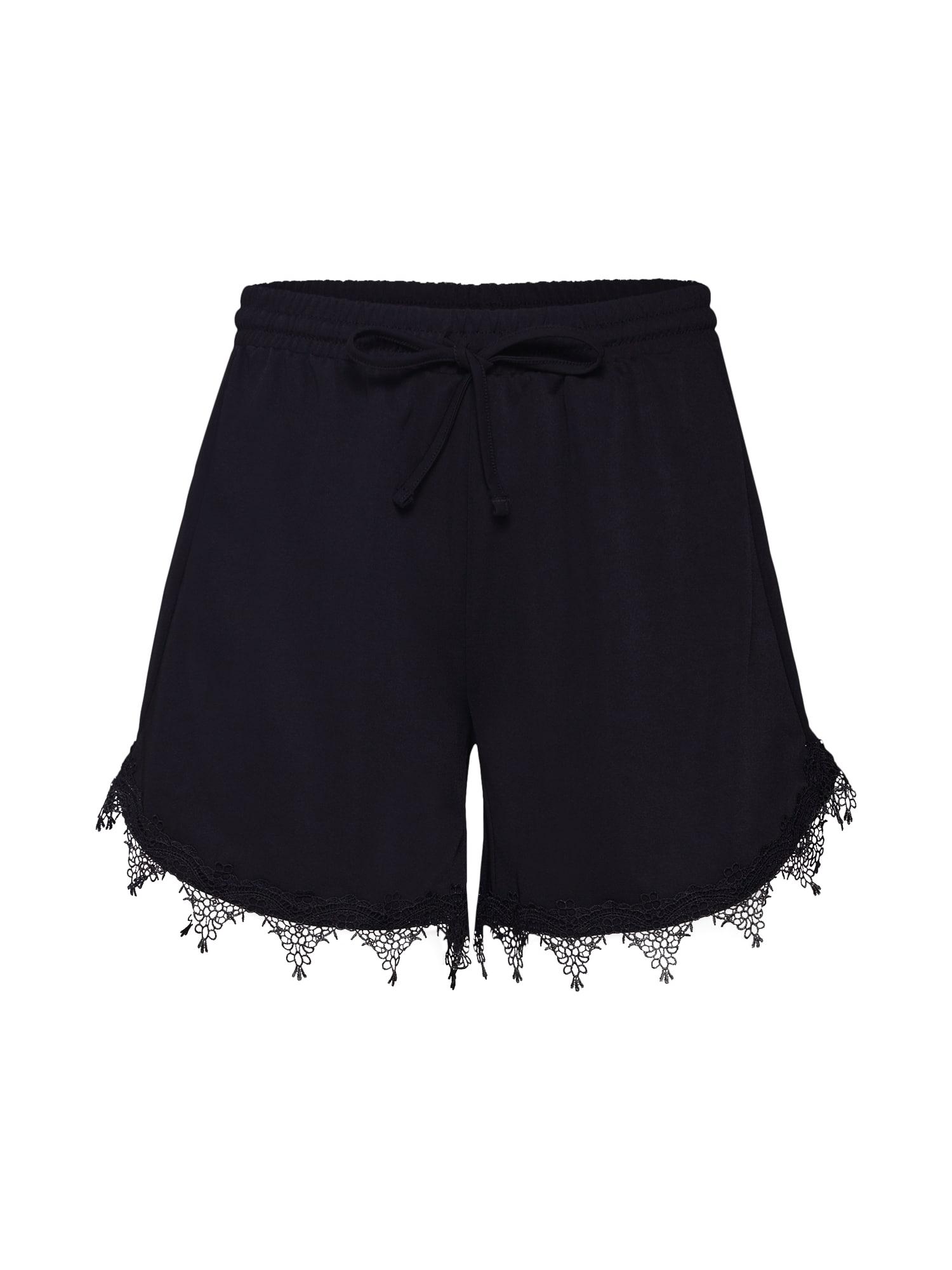Kalhoty Boudoiri černá VILA