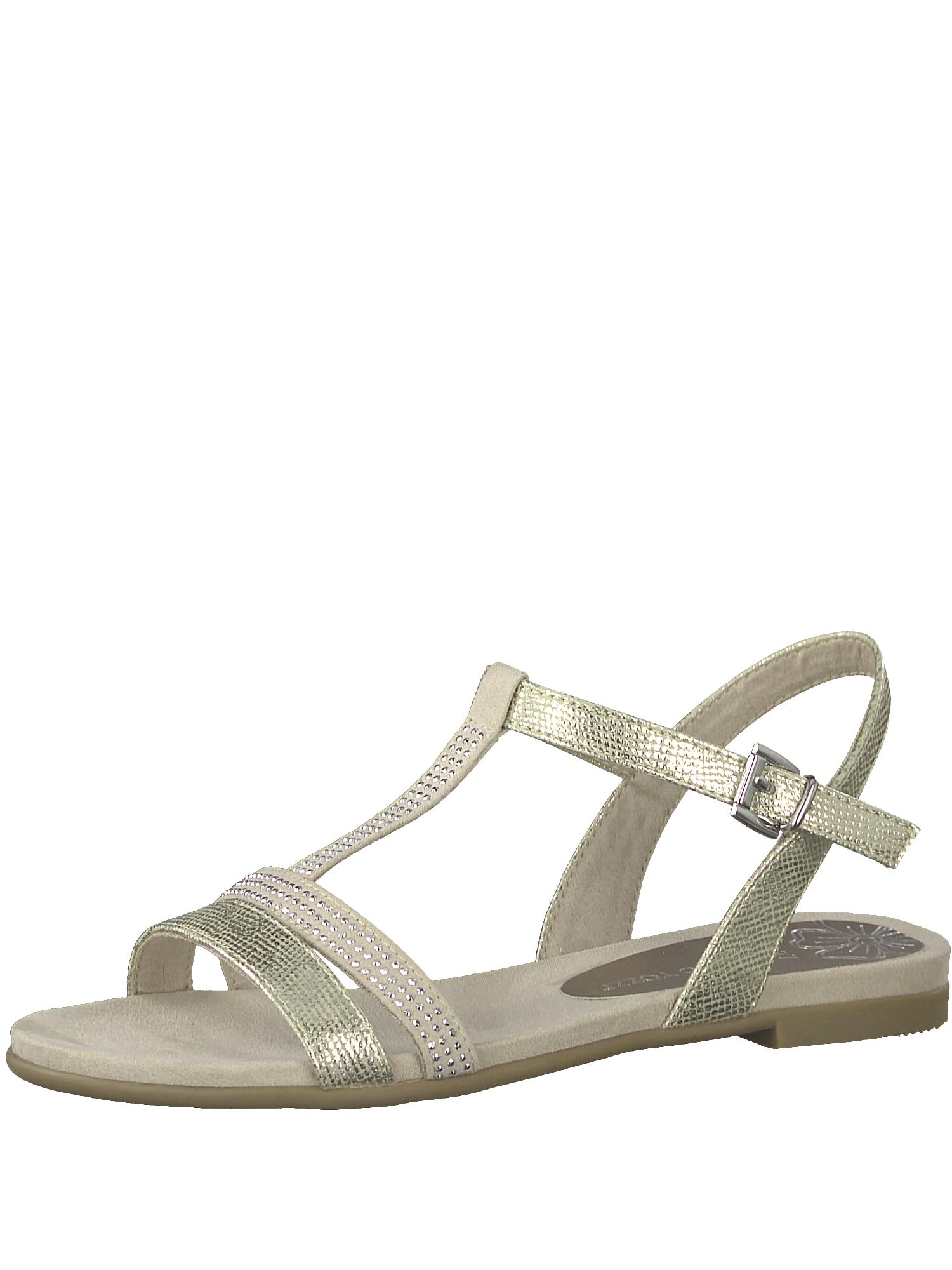 Páskové sandály zlatá MARCO TOZZI