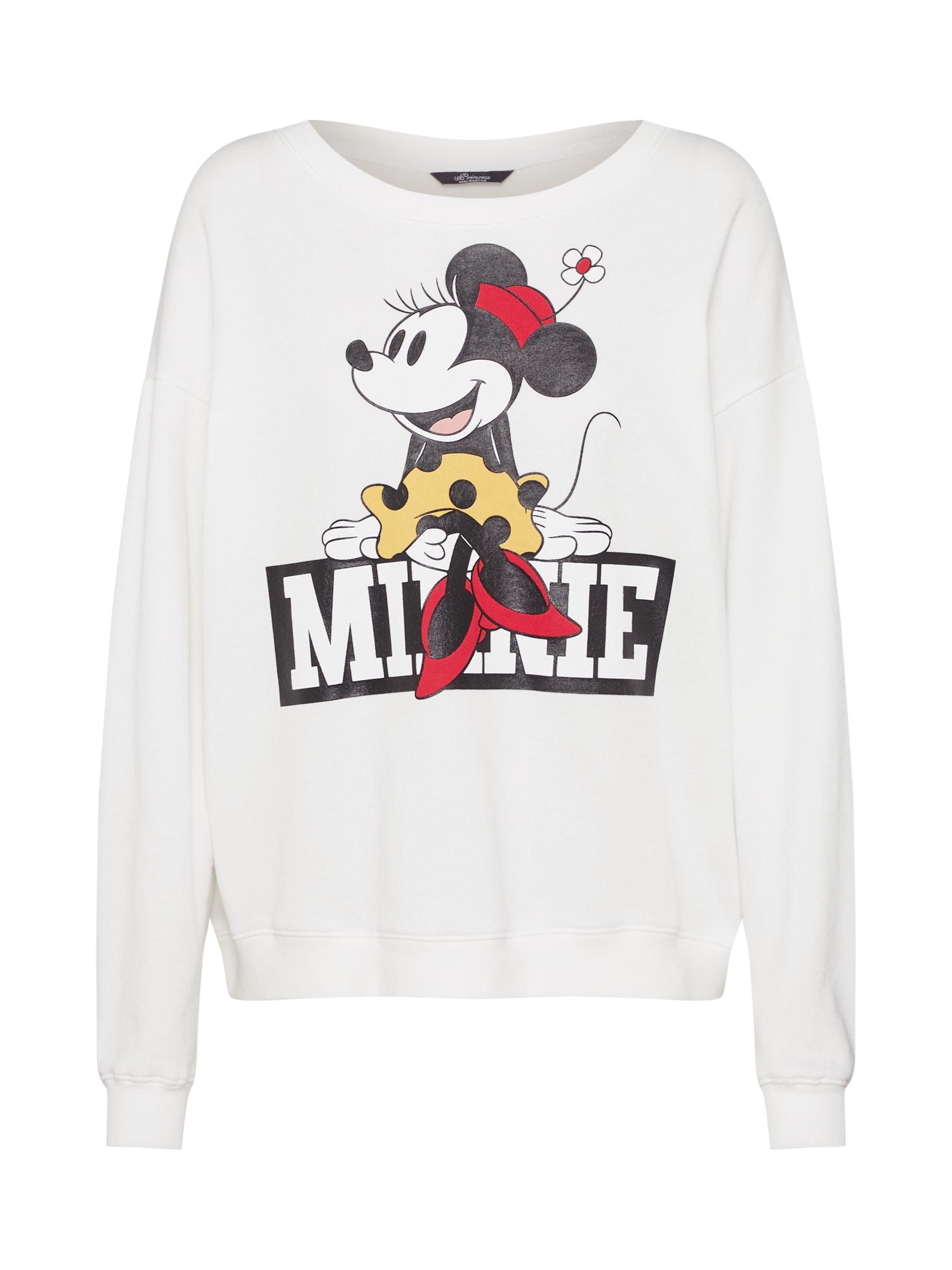 Mikina Disney minnie mrs sweaty bílá PRINCESS GOES HOLLYWOOD
