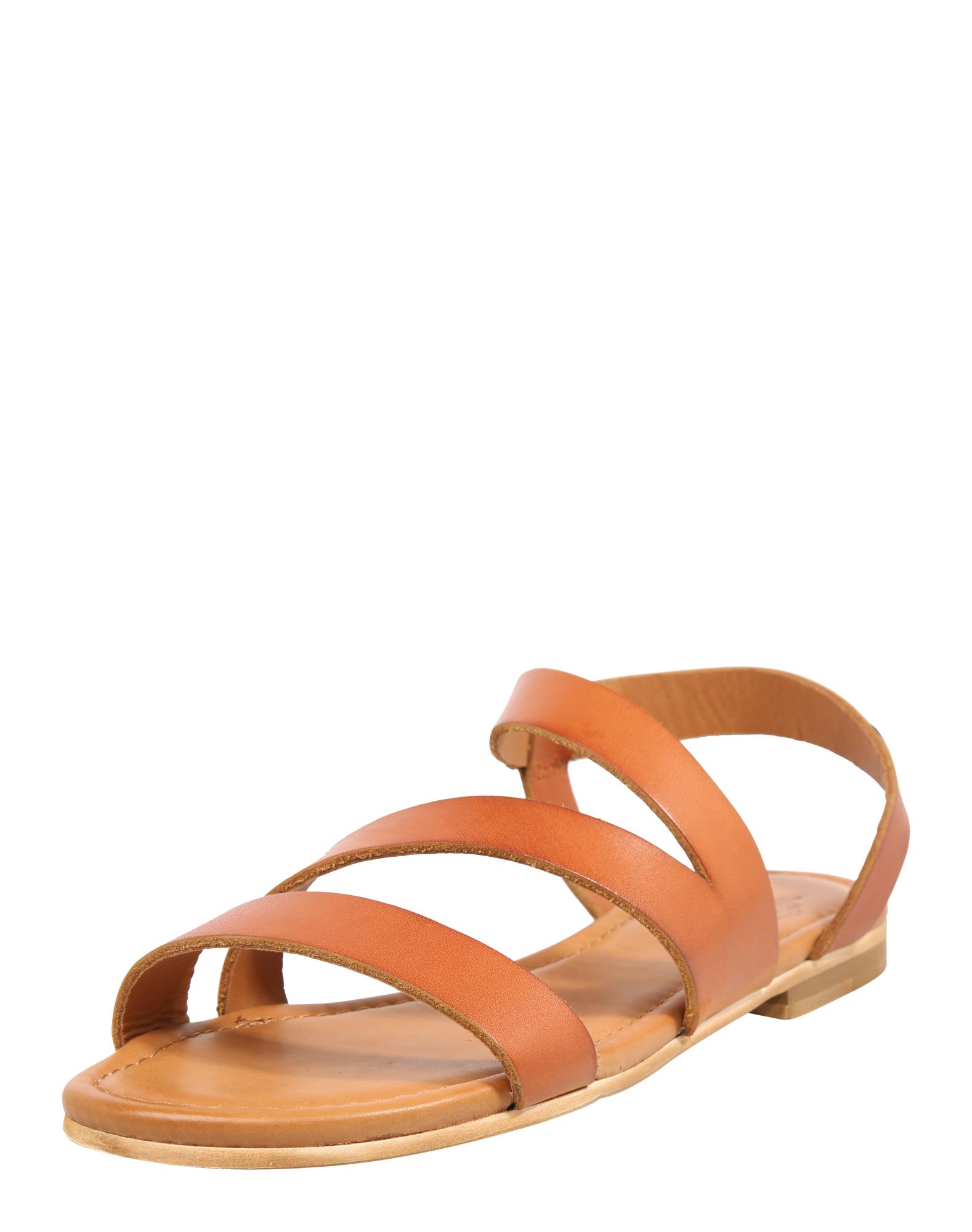 Páskové sandály Lena koňaková Apple Of Eden