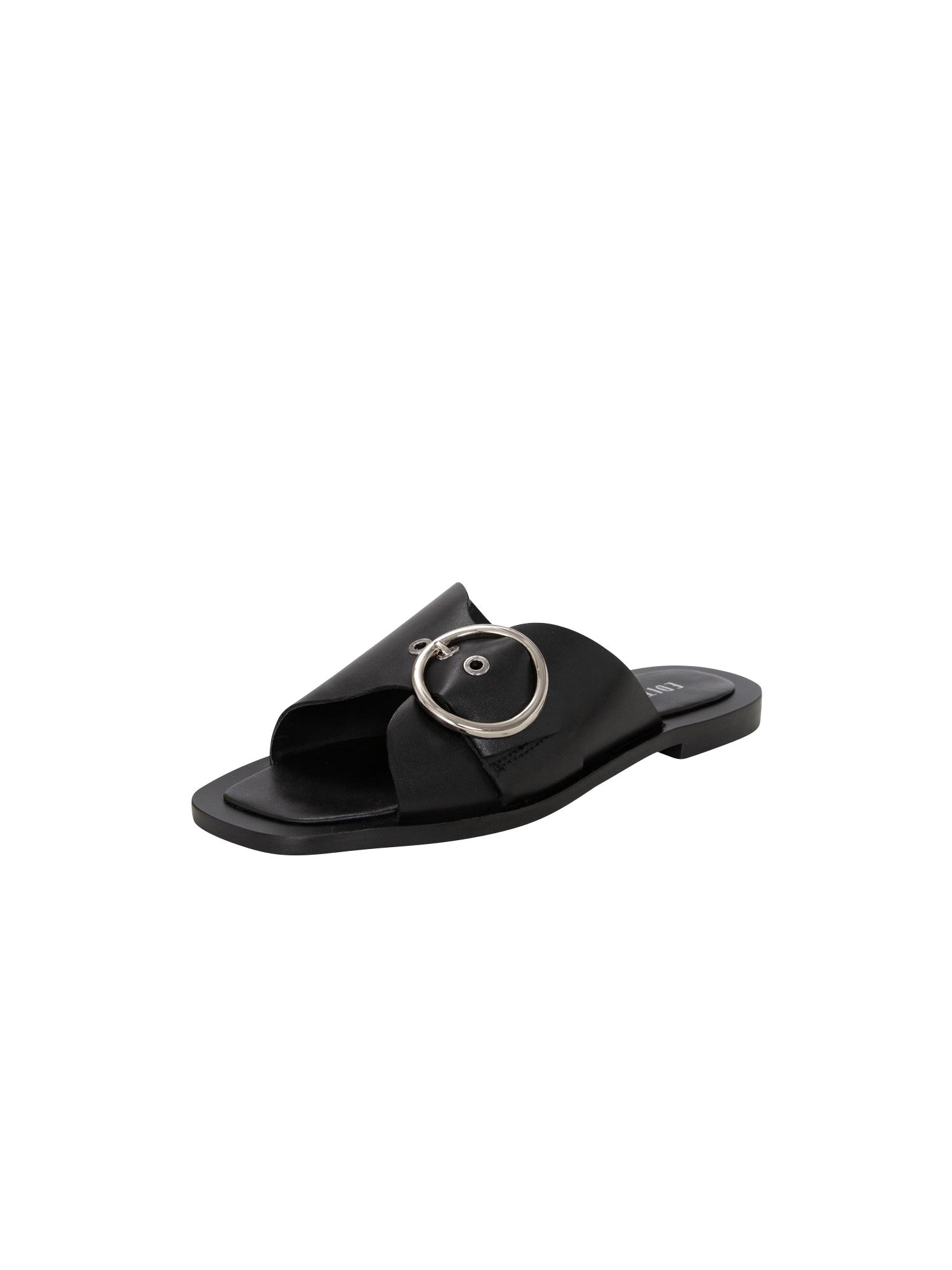 Pantofle Nisha černá EDITED