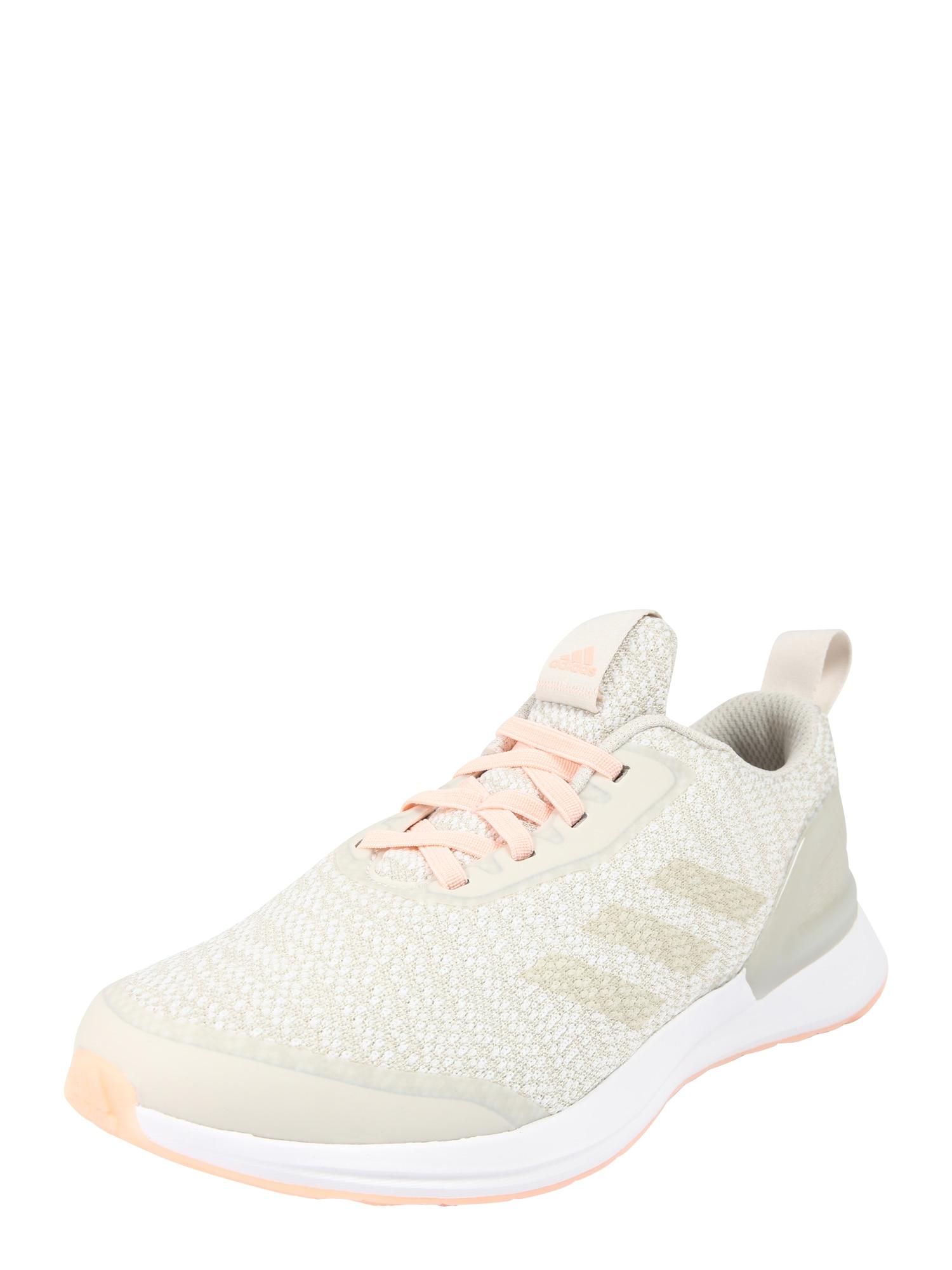 Sportovní boty Rapidarun X Knit EL béžová broskvová ADIDAS PERFORMANCE
