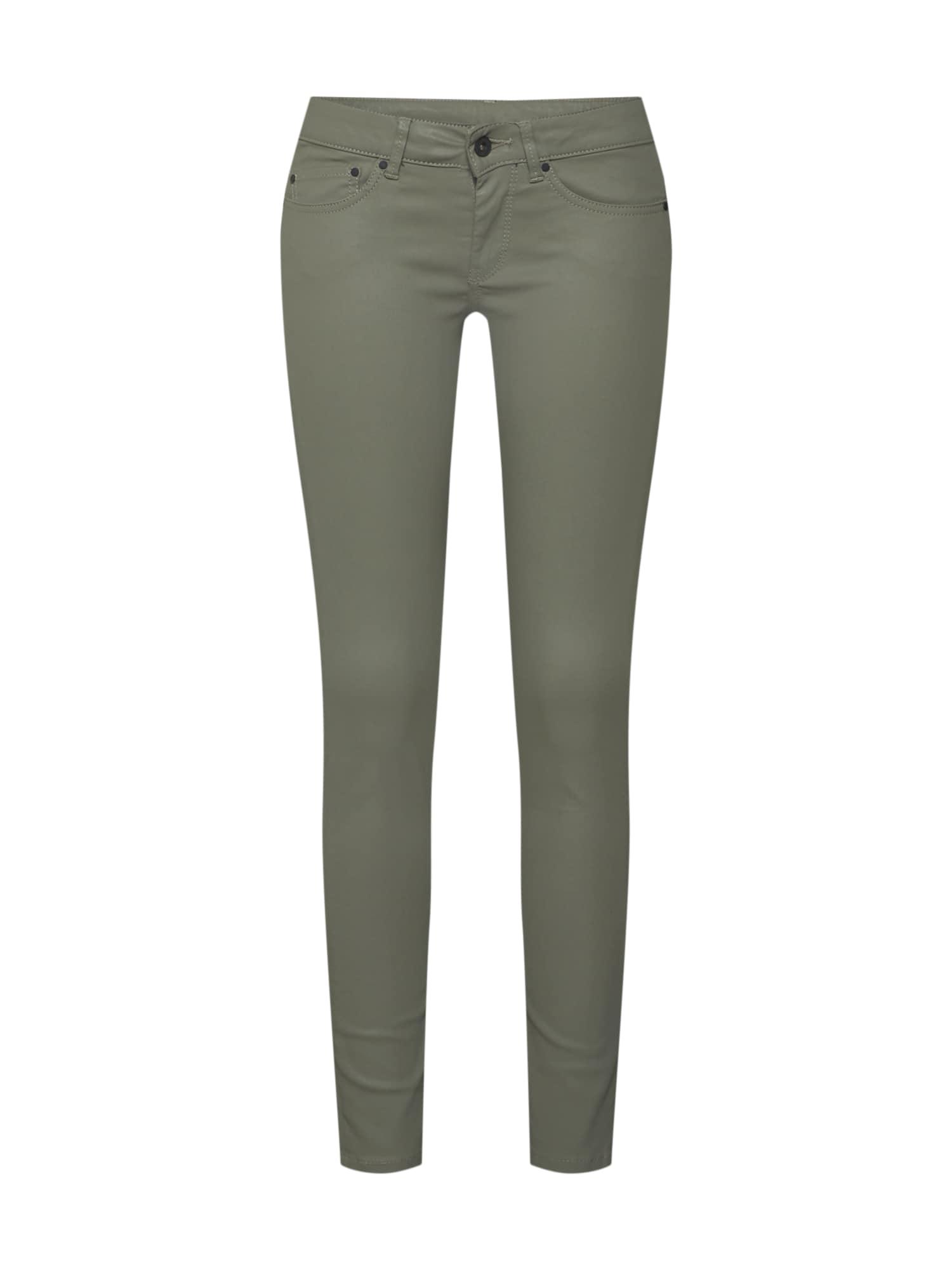 Džíny Pixie khaki Pepe Jeans