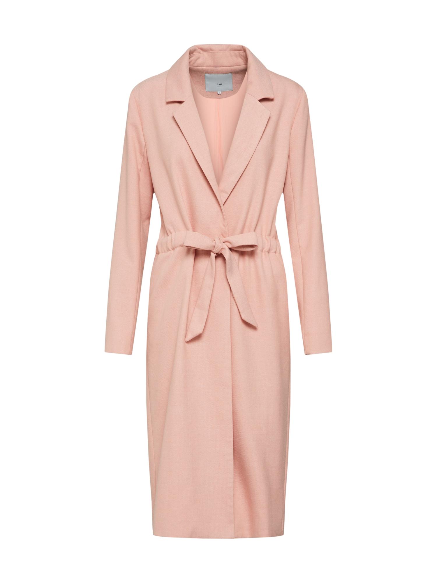 Přechodná bunda IHSTAMO Jacket růžová ICHI